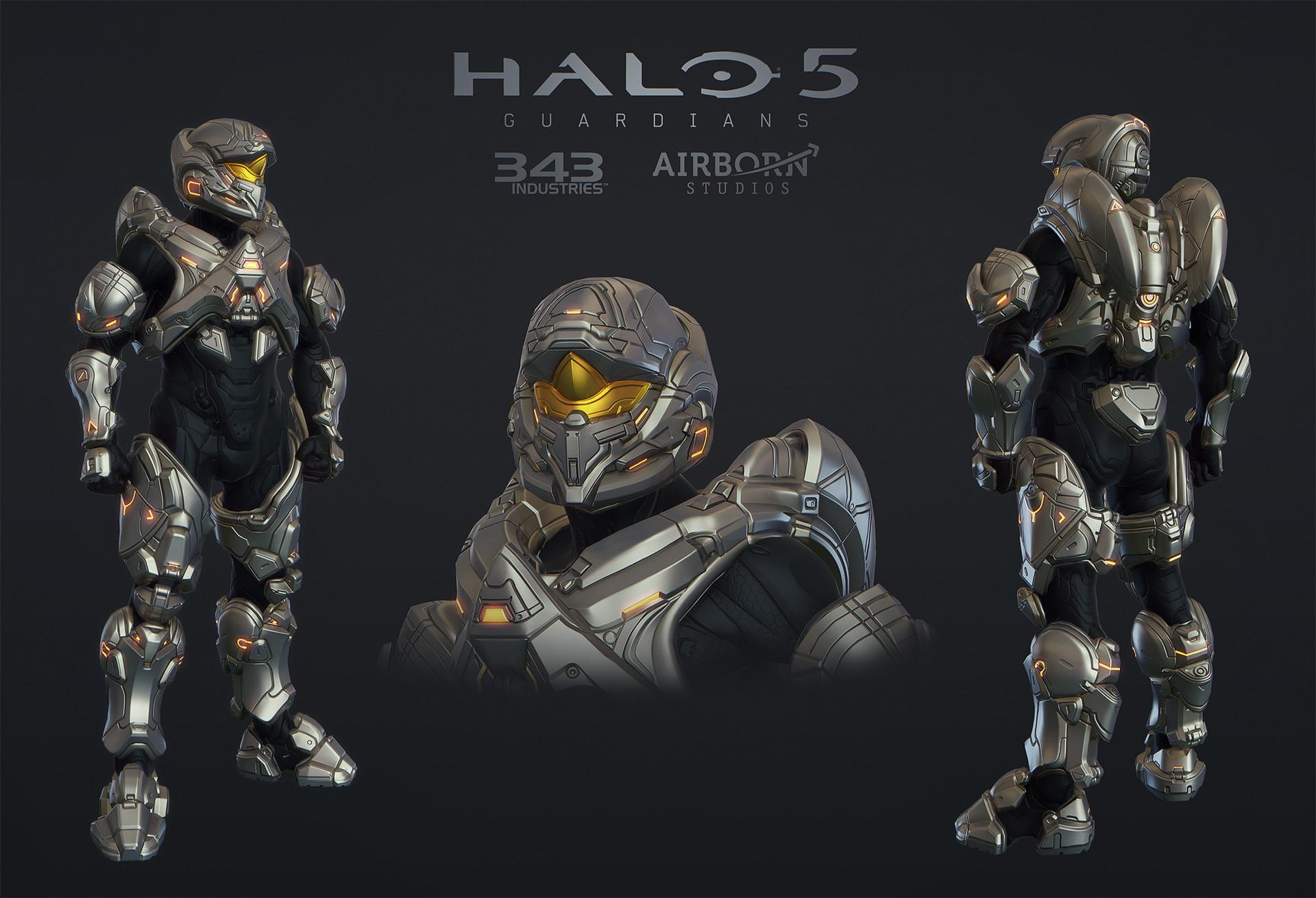 ArtStation - Halo 5 Multiplayer Armor Cinder, Airborn Studios