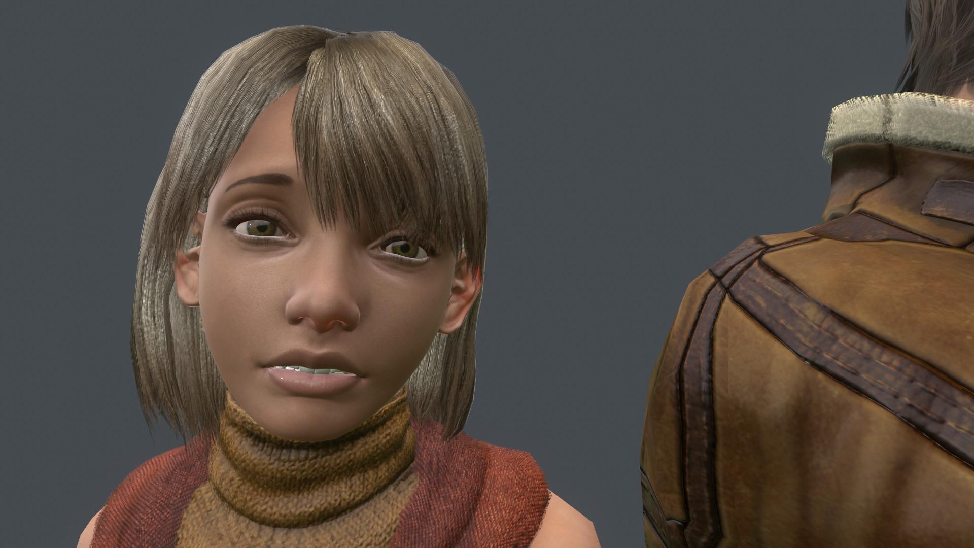 Artstation Resident Evil 4 Leon And Ashley Fan Render Razzle Bell