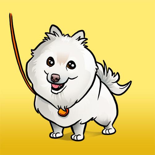 Steve rampton white dog