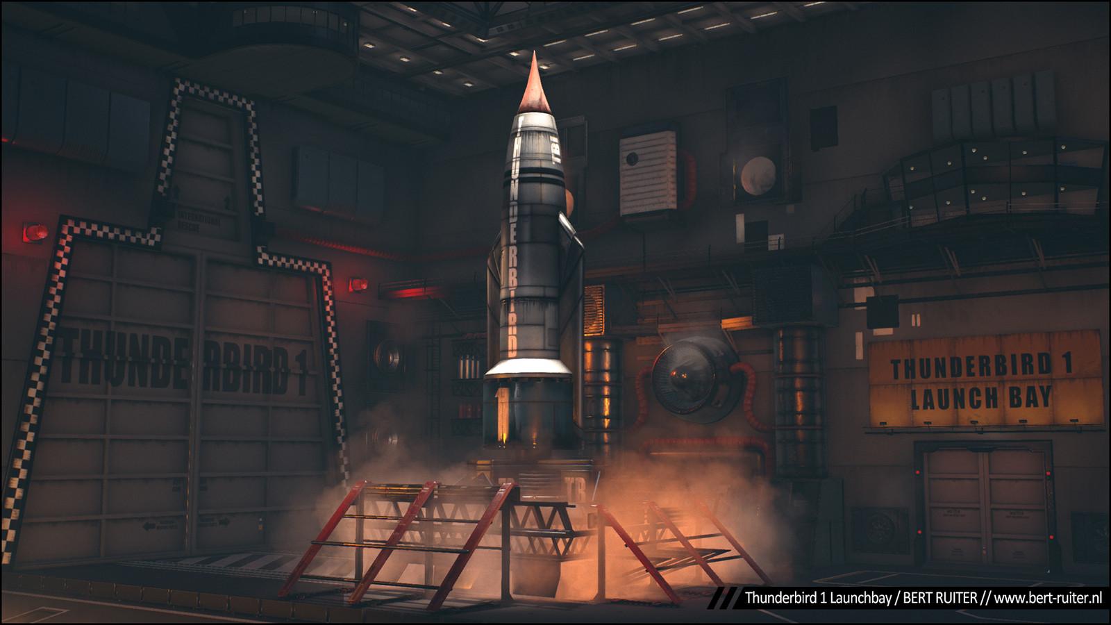 Thunderbird 1 Launchbay