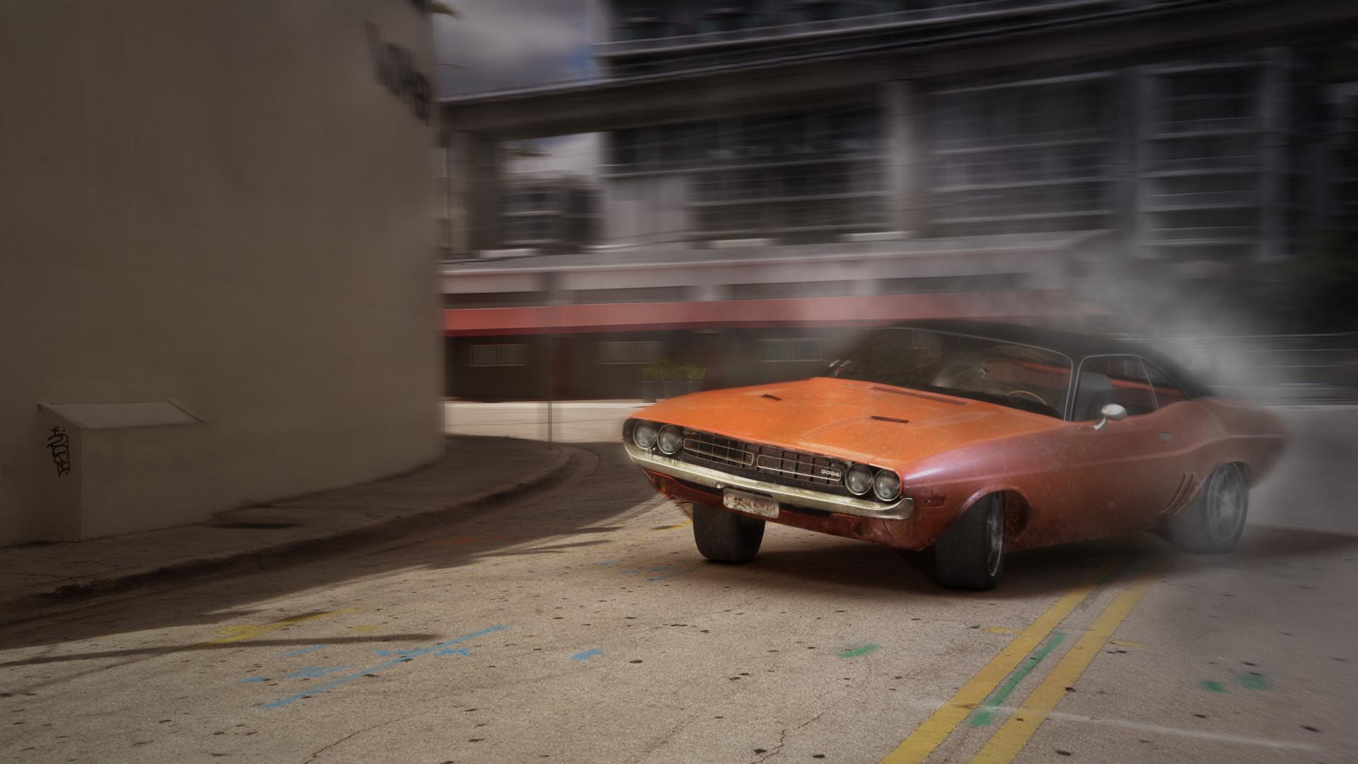 Christophe Gigot Dodge Challenger 71