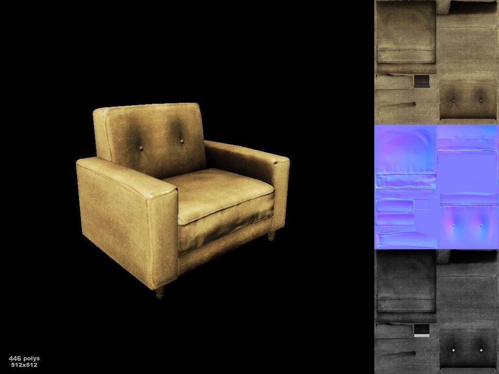 Dani santos sofa