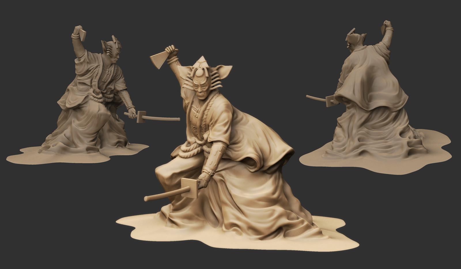 Dani santos estatua 1