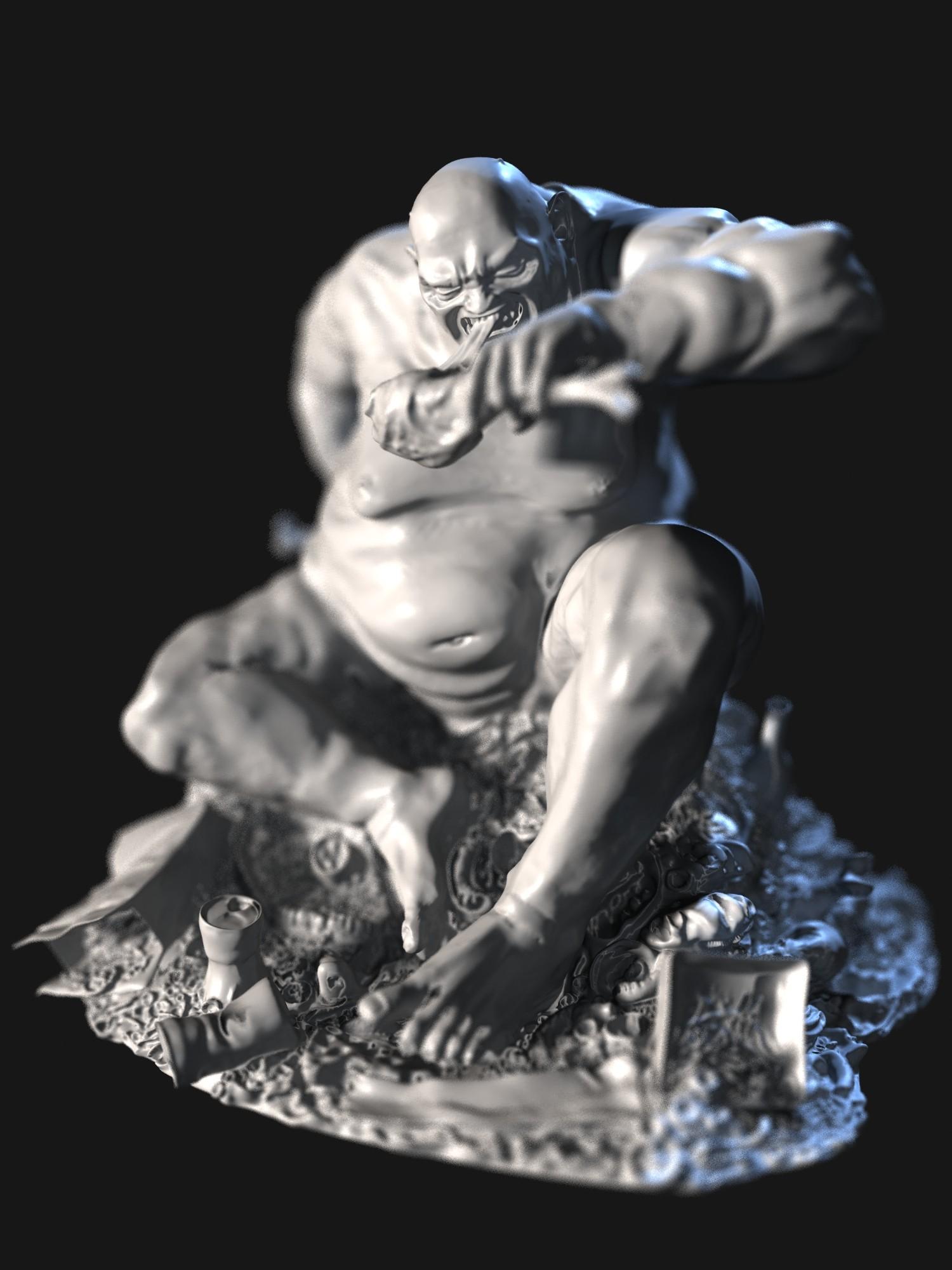 Dani santos test estatua 2