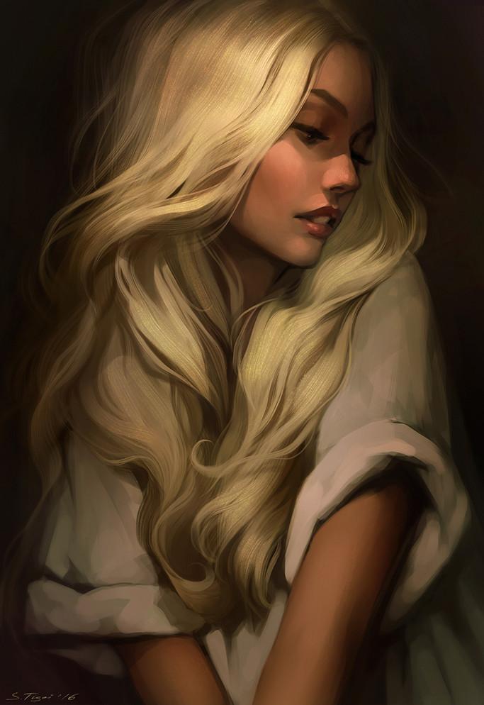 Nude art blonde erotic picture 83