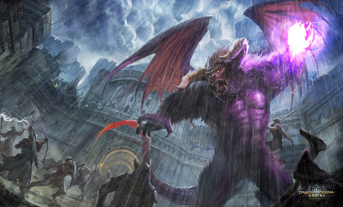 Dragon's Dogma Online: Demon Battle