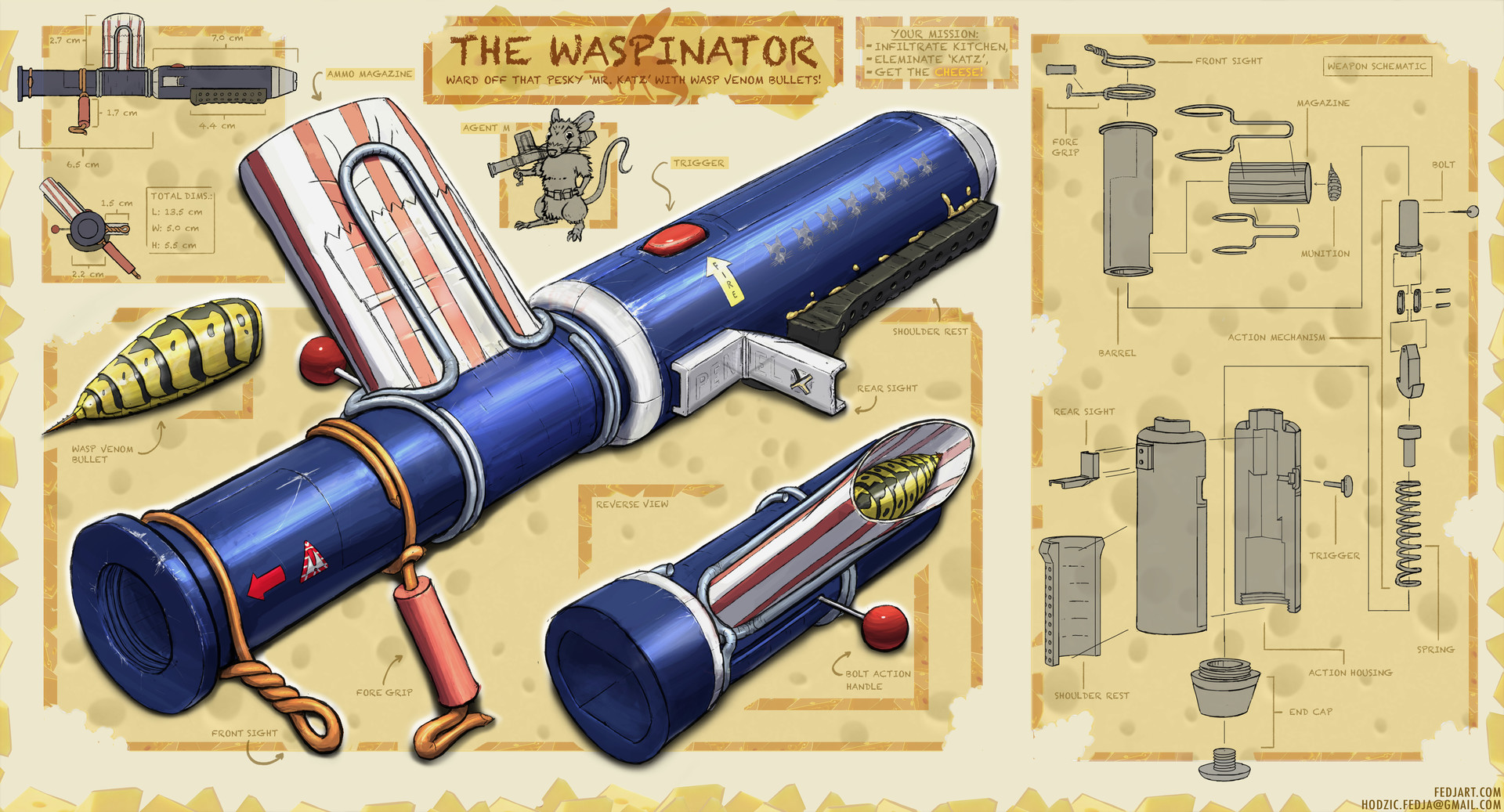 Pen Bazooka