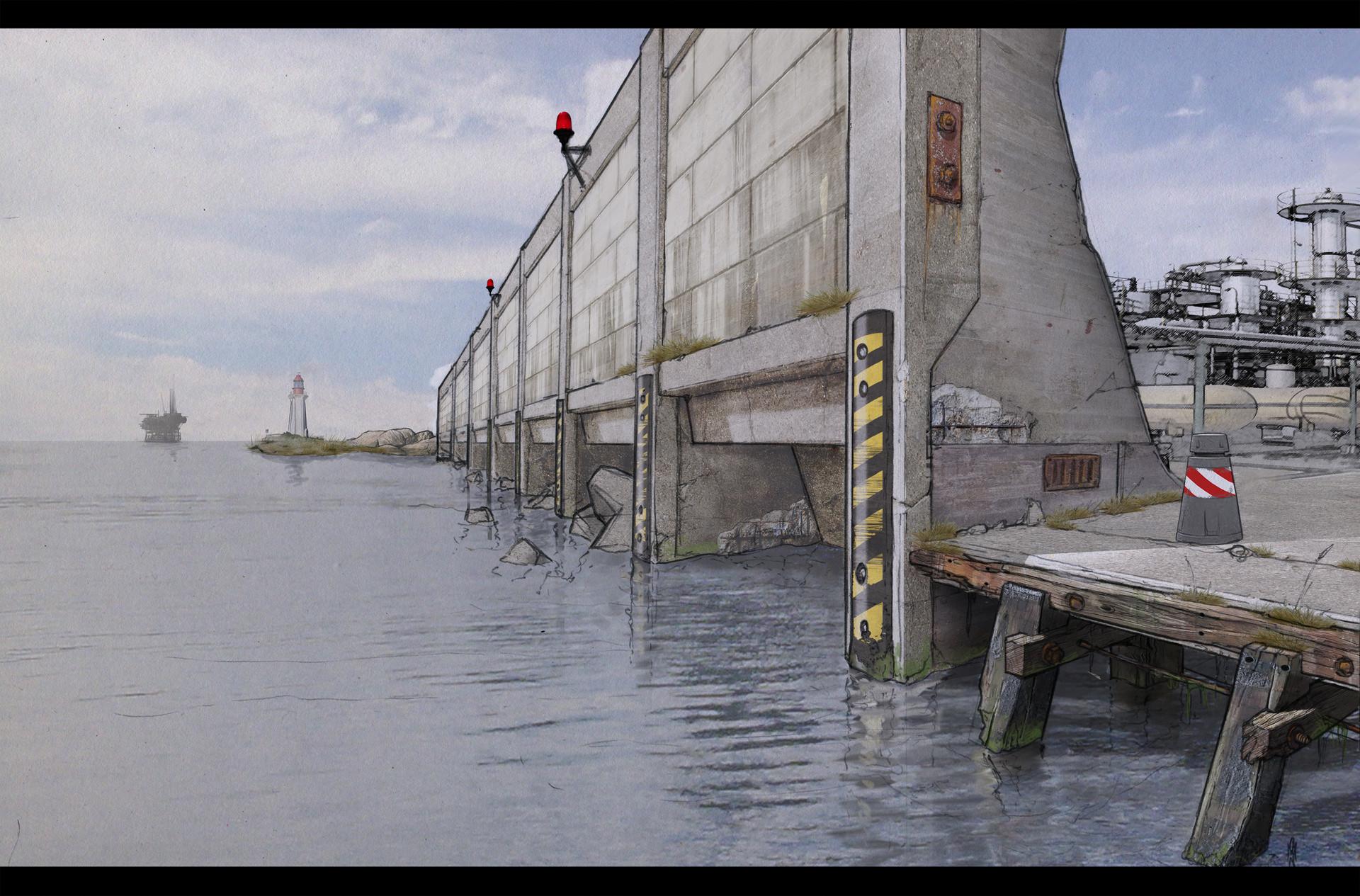 Stephen rushbrook harbourwall 3k