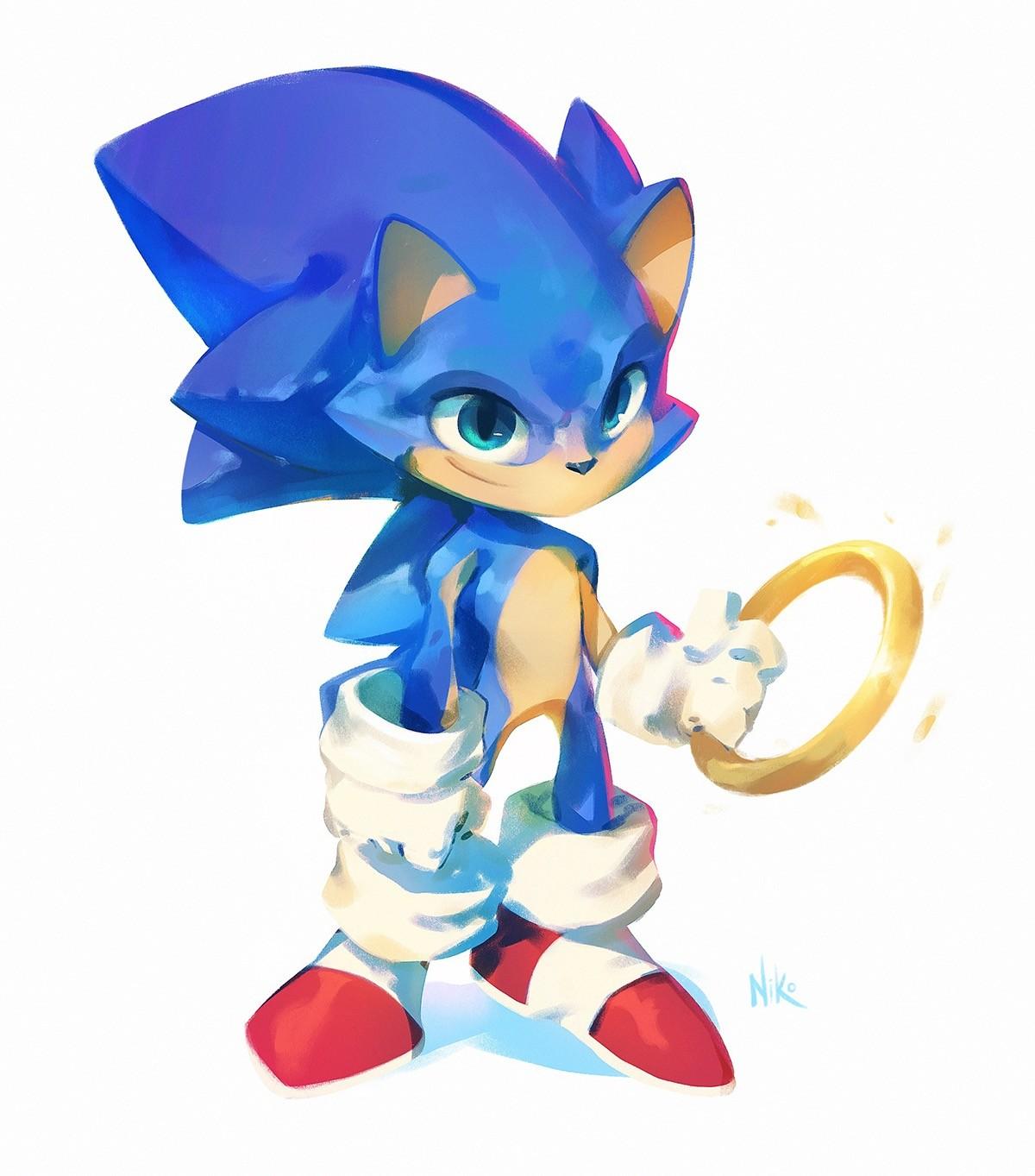 Artstation Sonic The Hedgehog Redesigns Nicholas Kole