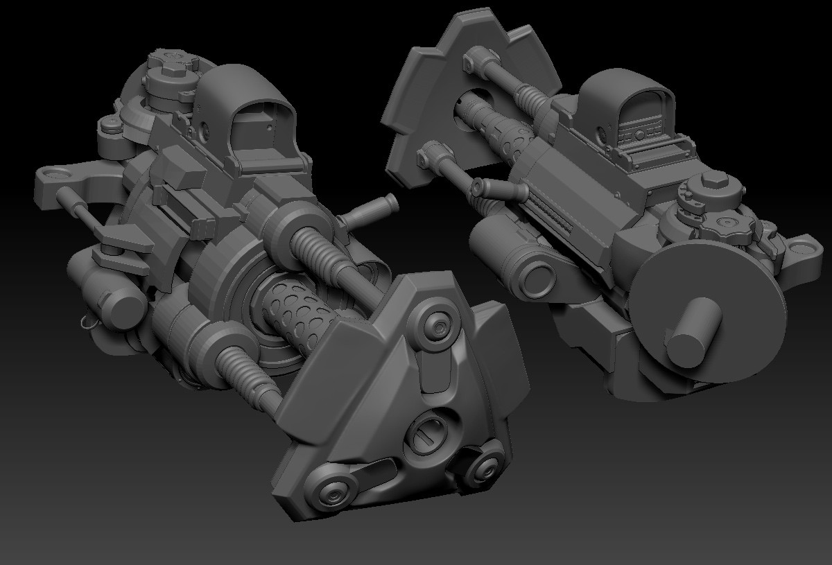 went through those assets and really helped me give some direction to how this thing was going to function