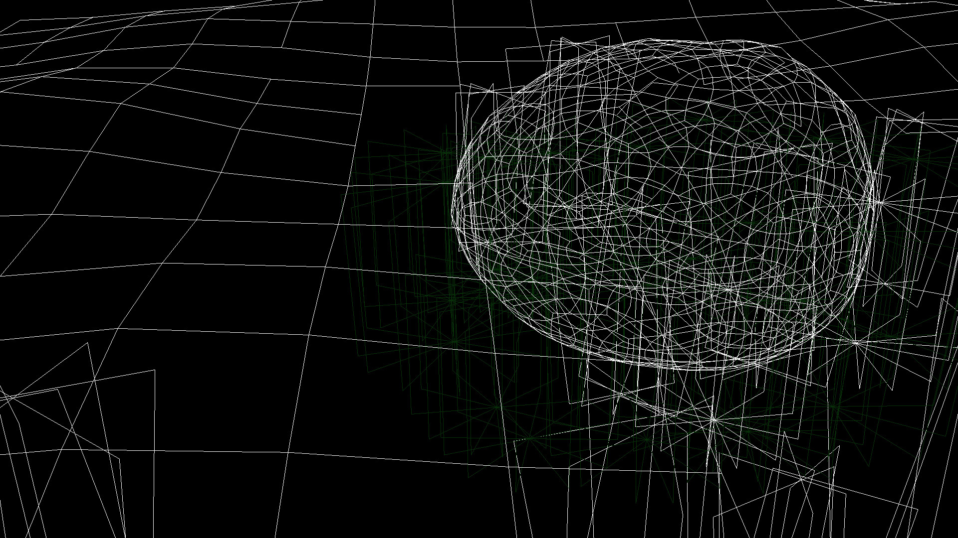 Wireframe without Particles