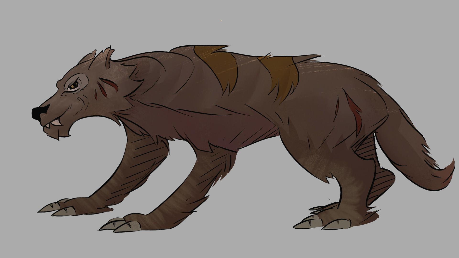Benjamin pelmoine loup des steppes alpha