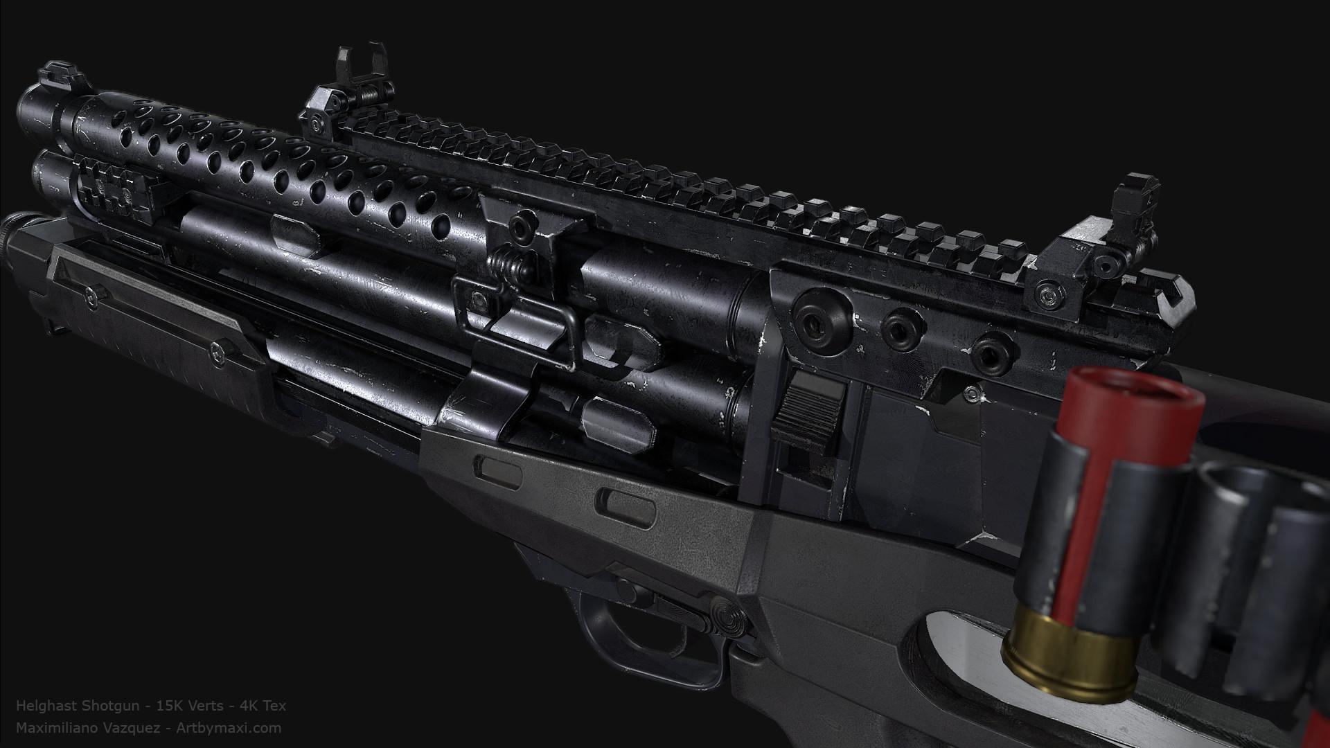 Maximiliano vazquez hellghast shotgun lp4