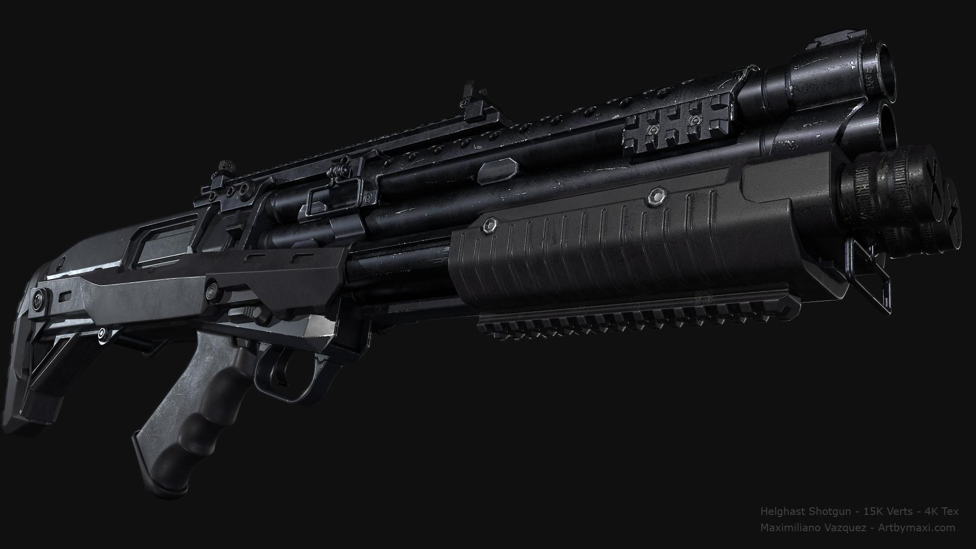Maximiliano vazquez hellghast shotgun lp6
