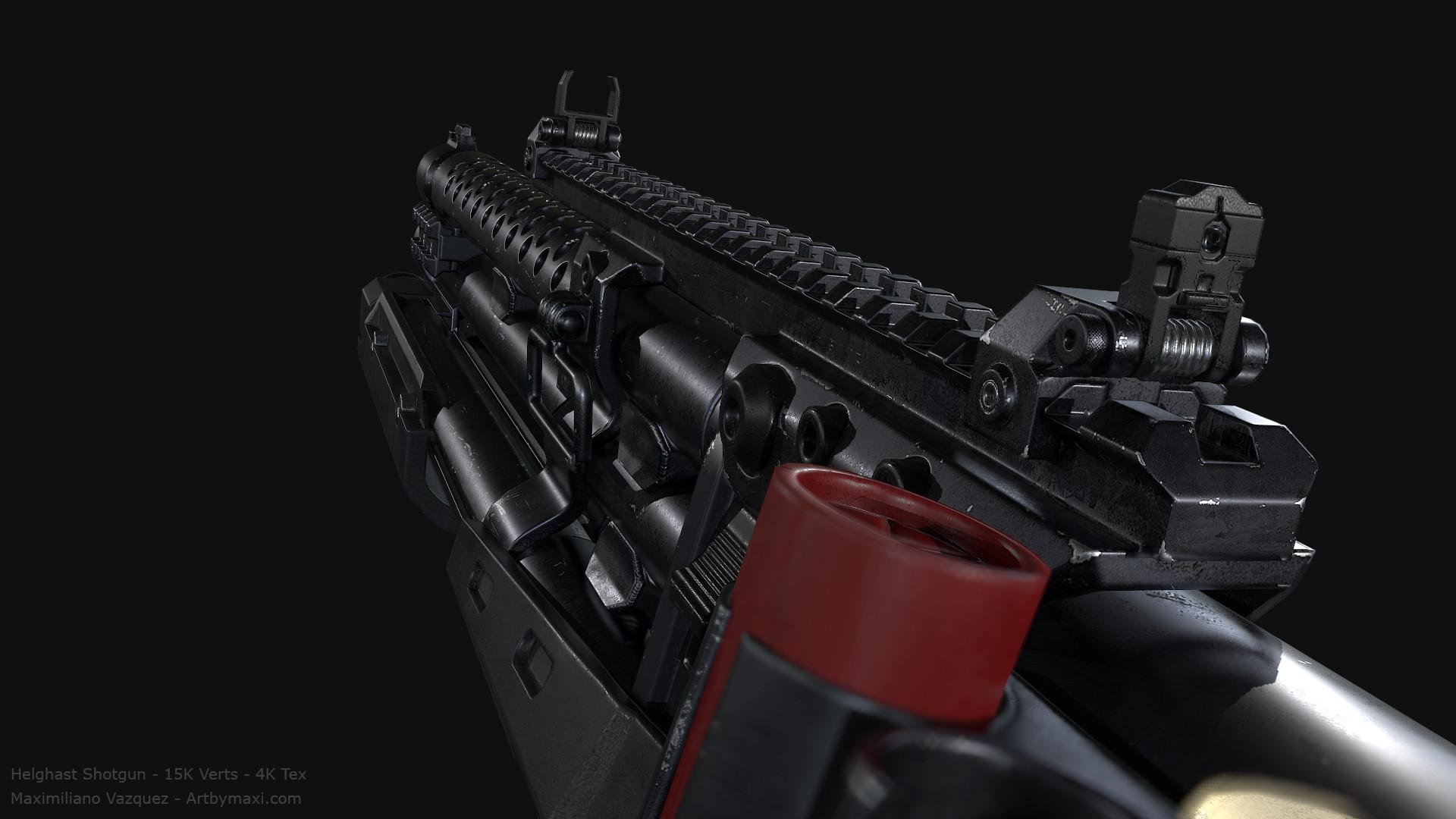 Maximiliano vazquez hellghast shotgun lp8