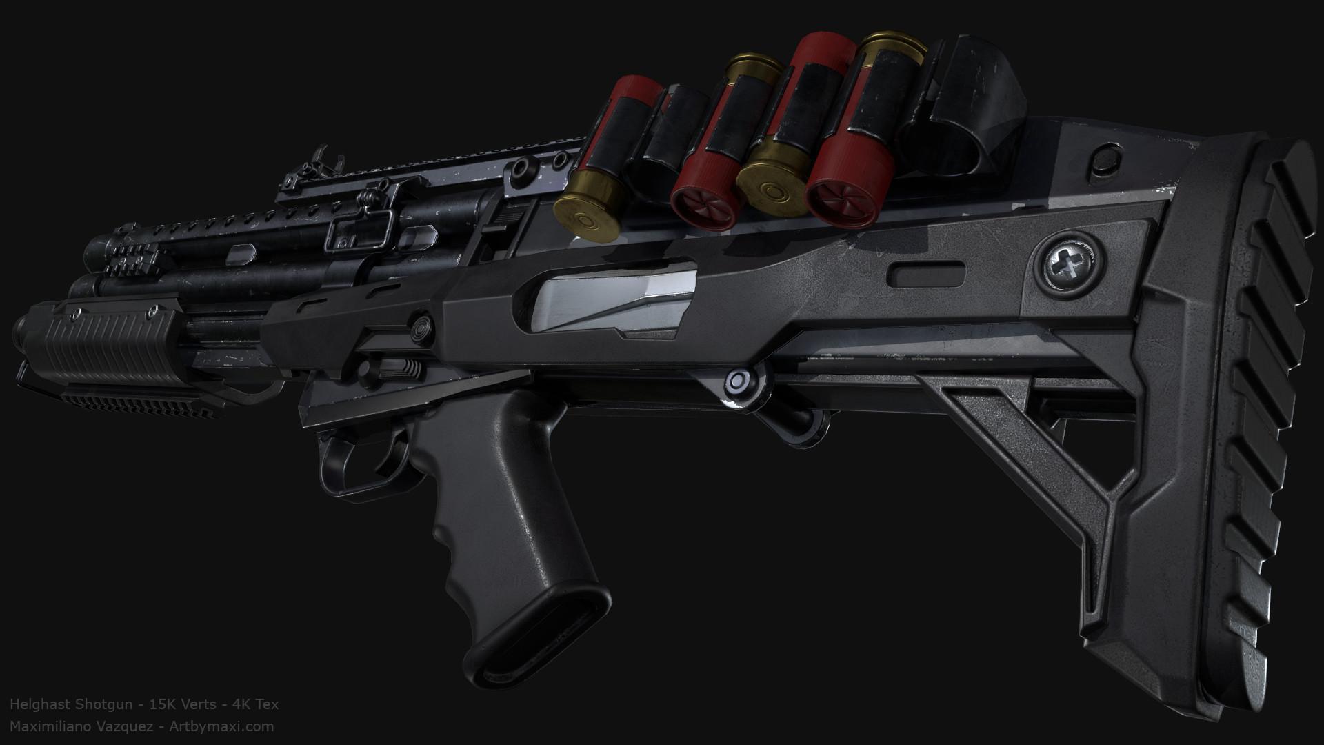 Maximiliano vazquez hellghast shotgun lp9