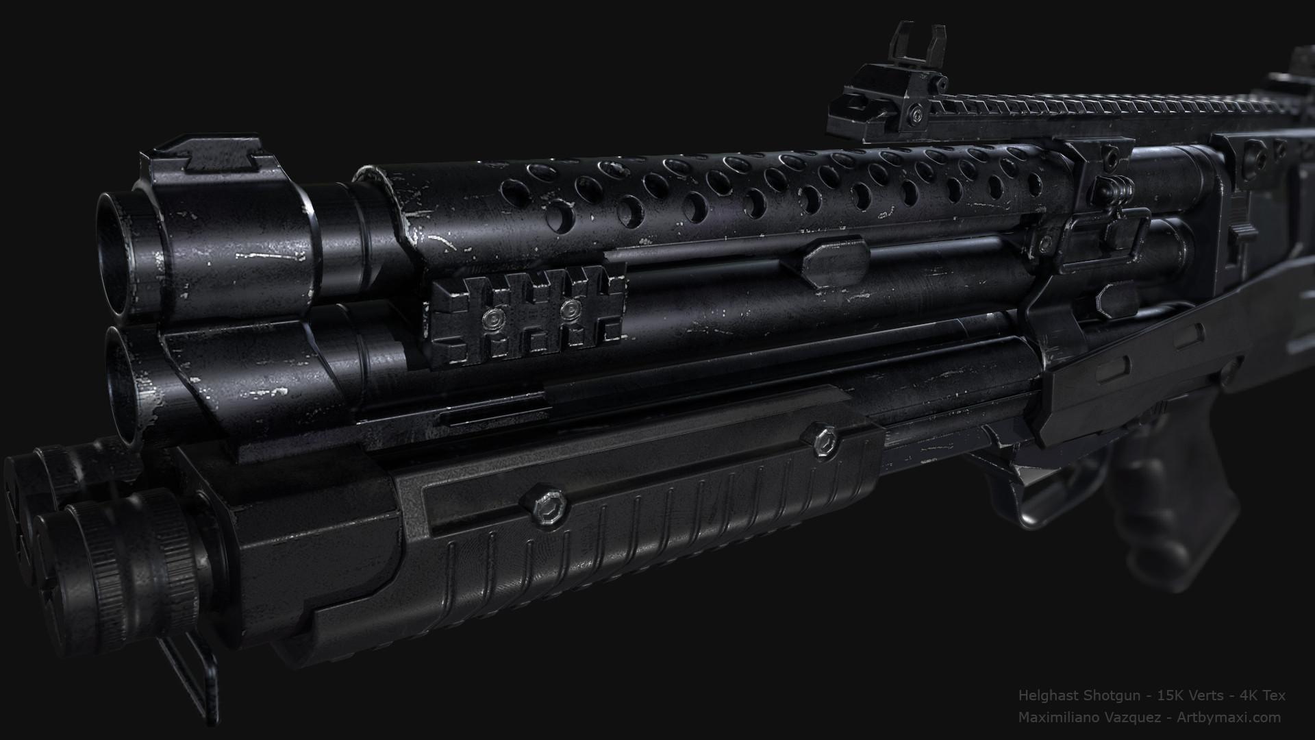 Maximiliano vazquez hellghast shotgun lp12