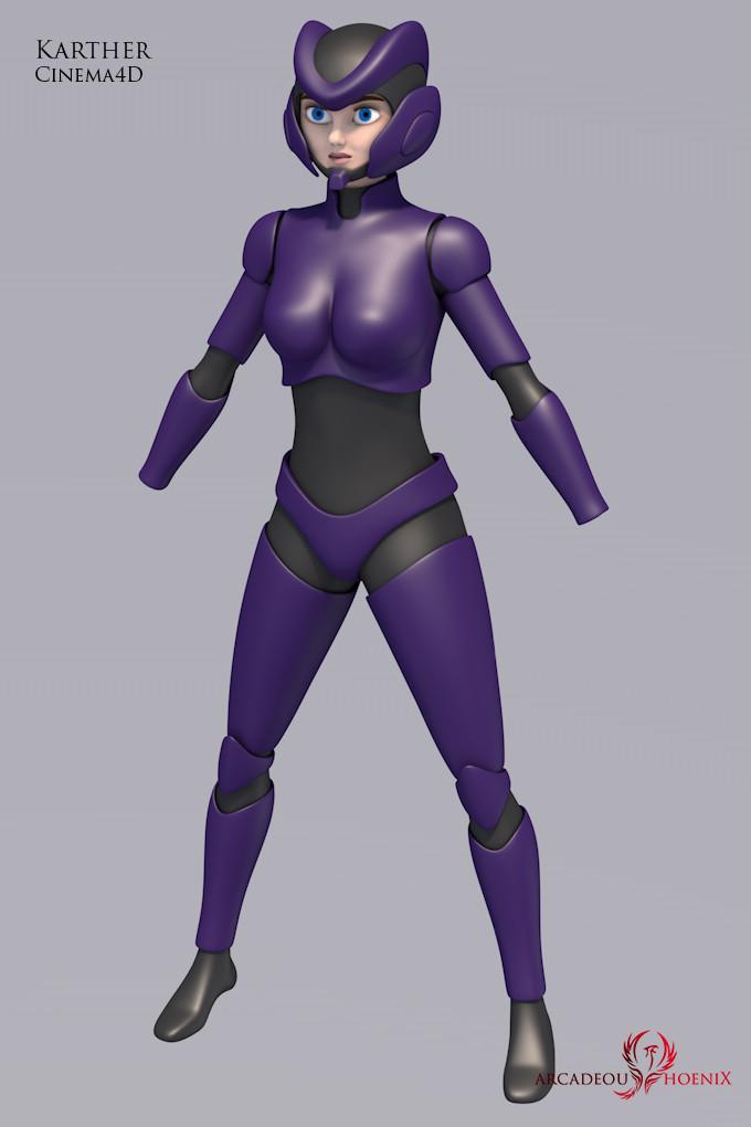 Arcadeous phoenix karther body armor