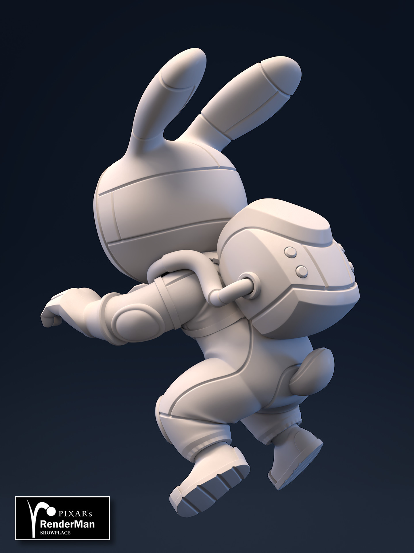 Brice laville saint martin rocket rabbit retopo back awards