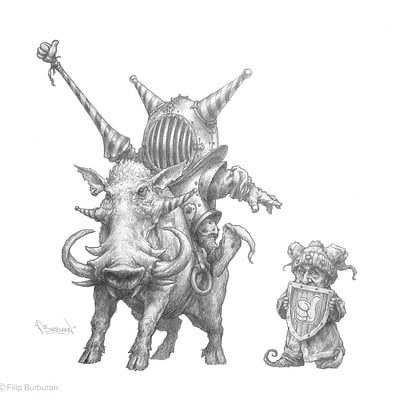 Filip burburan eccentric gnome paladin