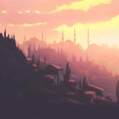 Emrullah cita sunset istanbul