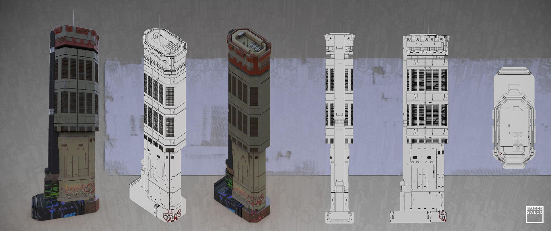 Small/medium Density Building