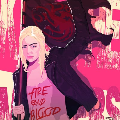 Anato finnstark kill the masters daenerys game of thrones by anatofinnstark da9pffz