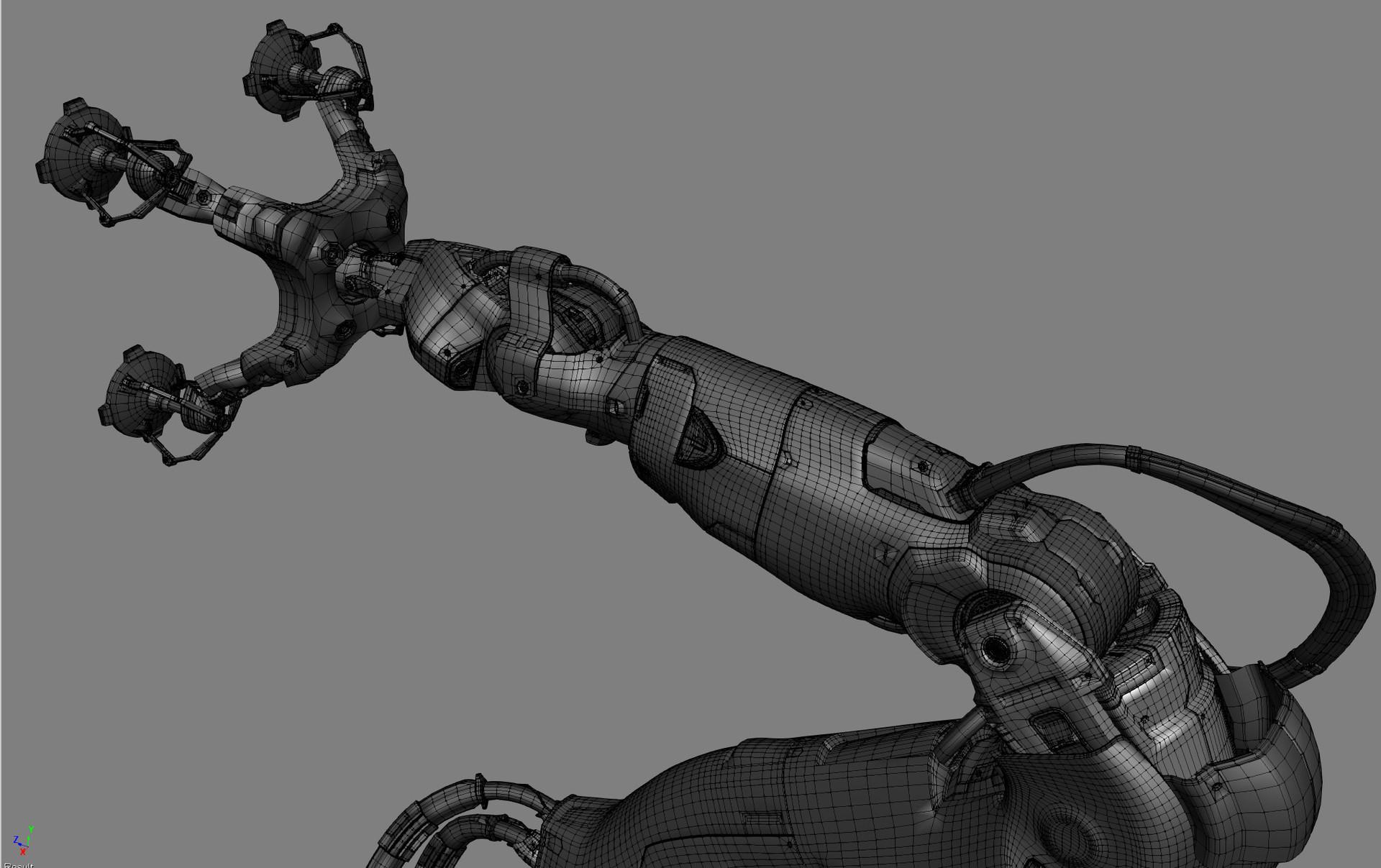 Alexander boluzhenkov roboticarm wip 14 3