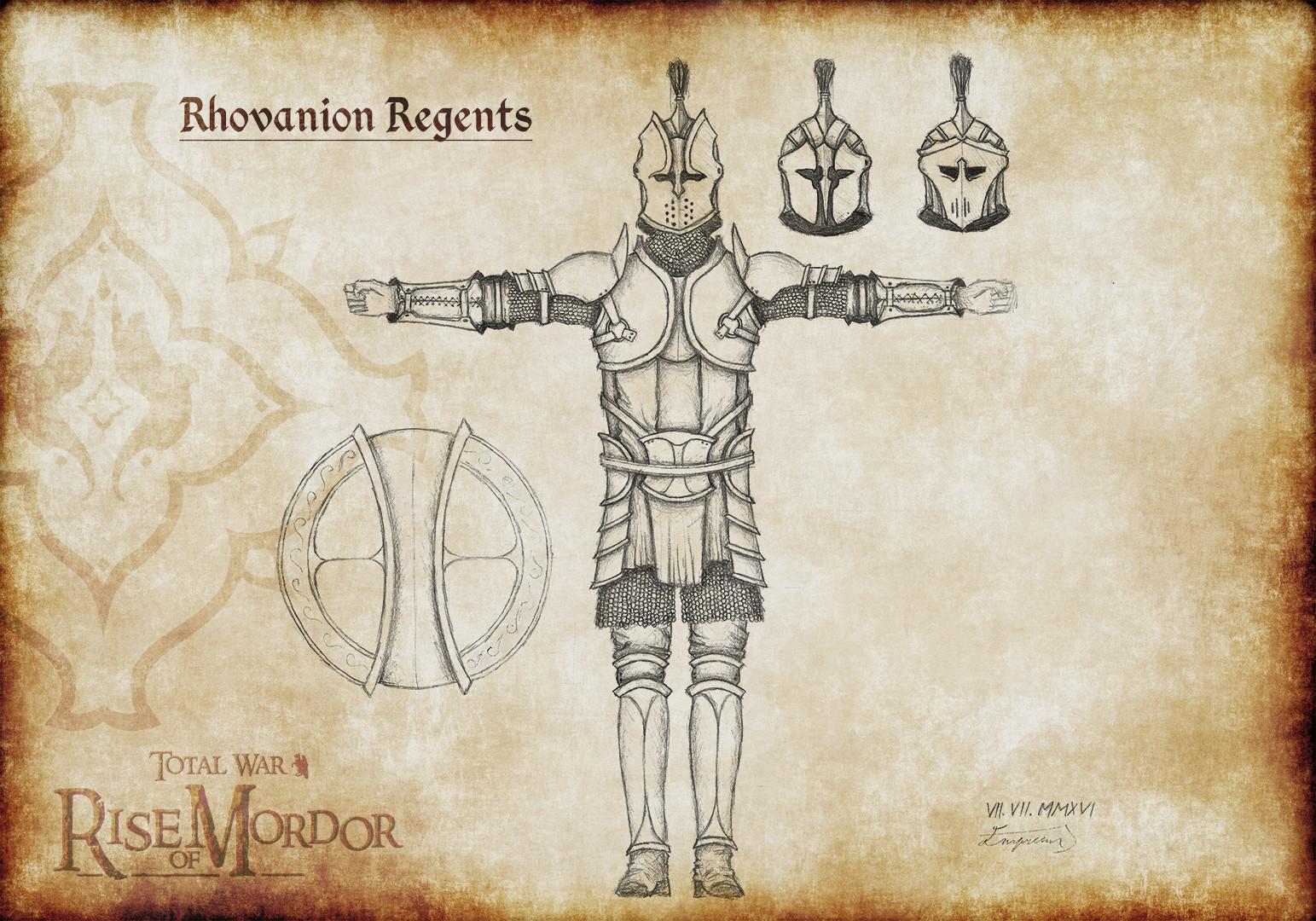 Adam dotlacil concept rhovanion regents