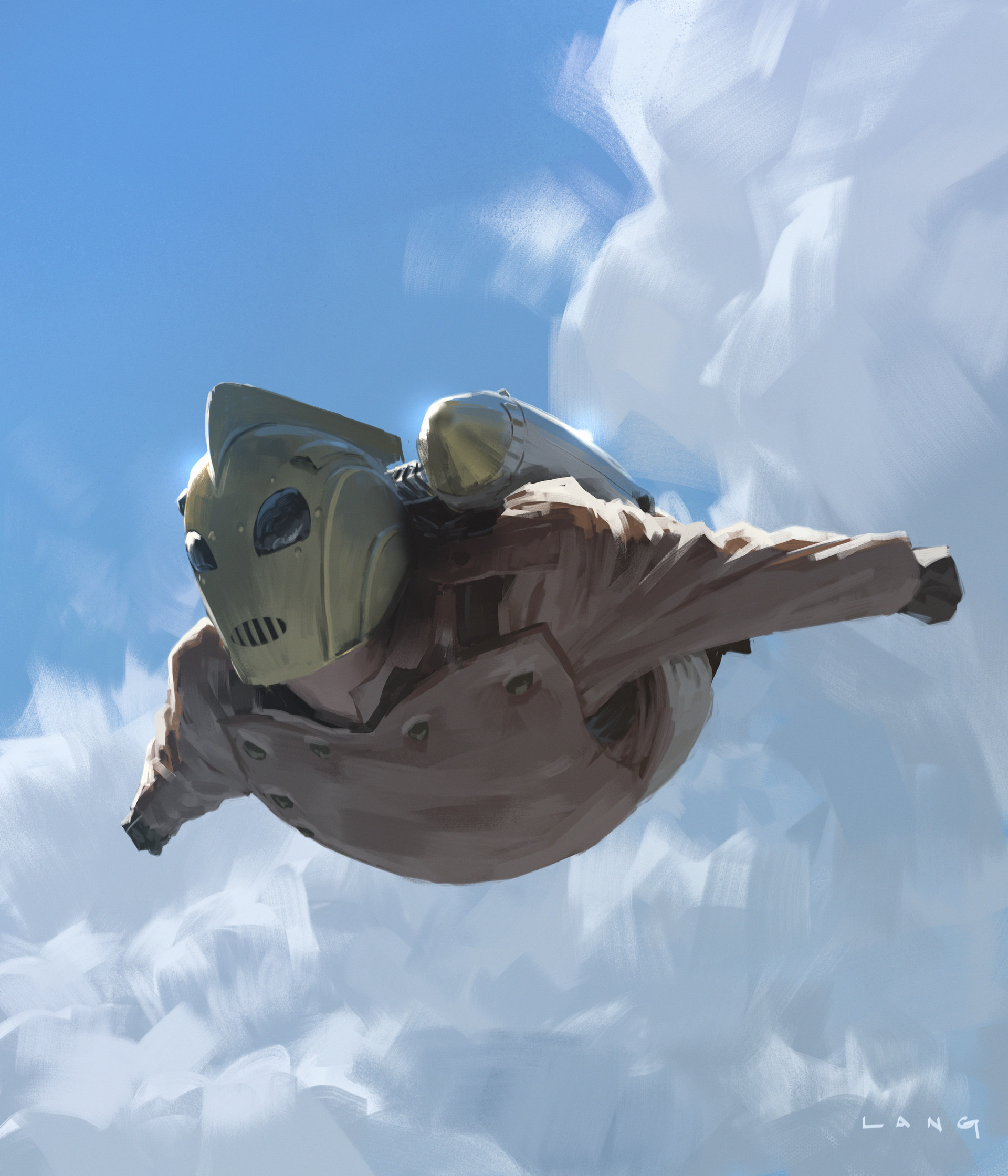 Ryan lang rocketeer