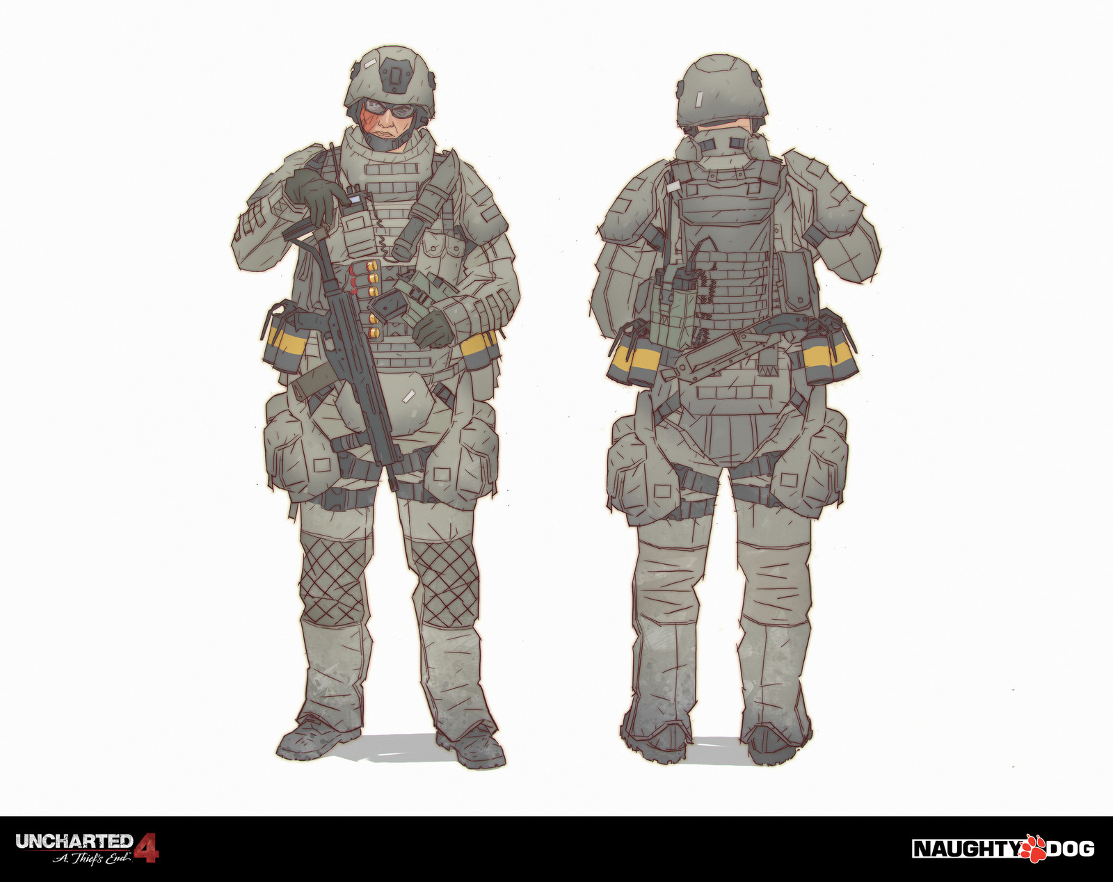 Military Lazarevic - Multiplayer costume.