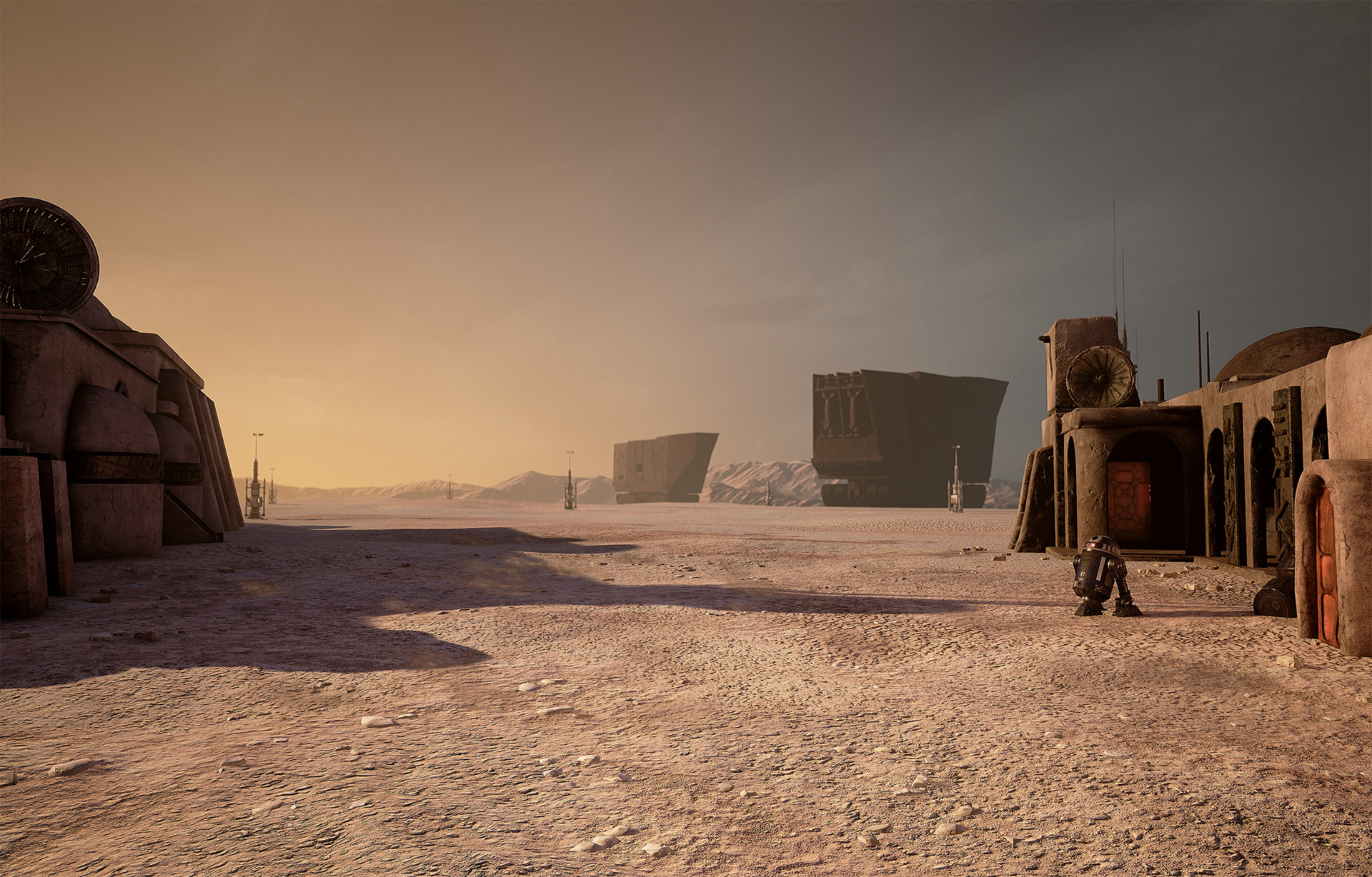 SandCrawler: model, textures, shader