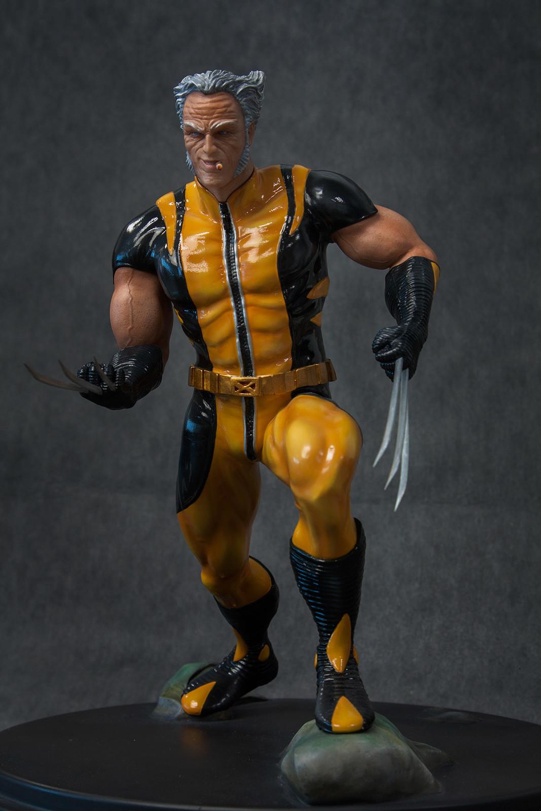 Wolverine Old Man Statue