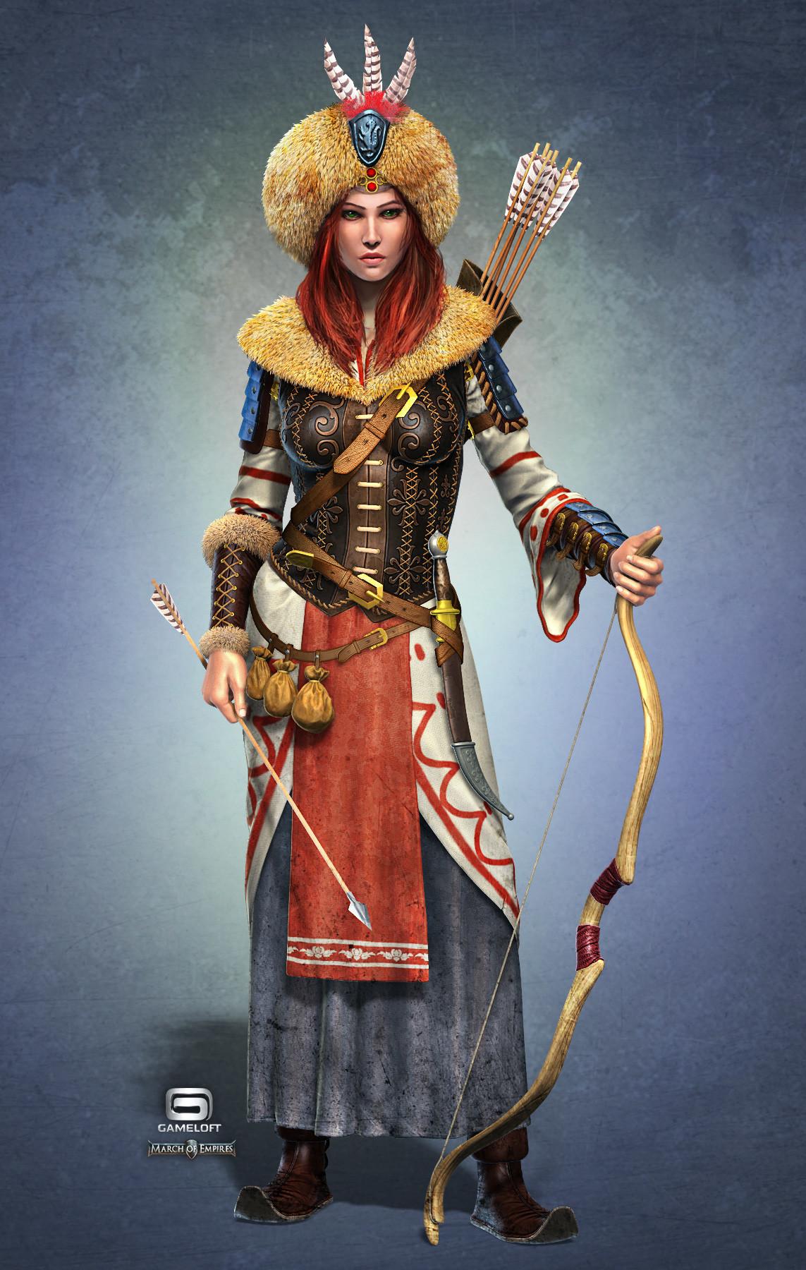 Female Warriors  New Girl Wallpaper-9163