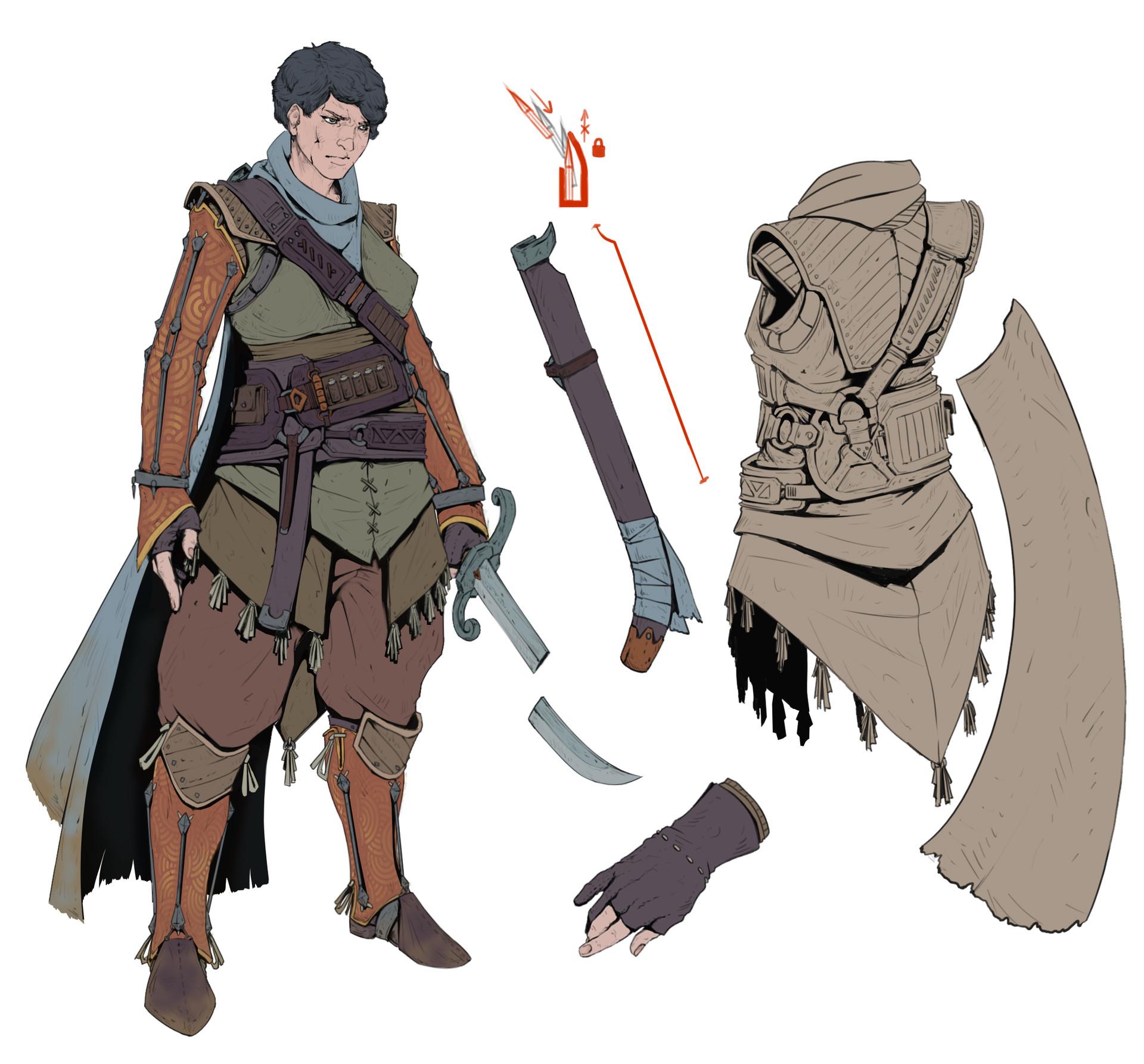 Graeme Hughes Light Cloth Armor