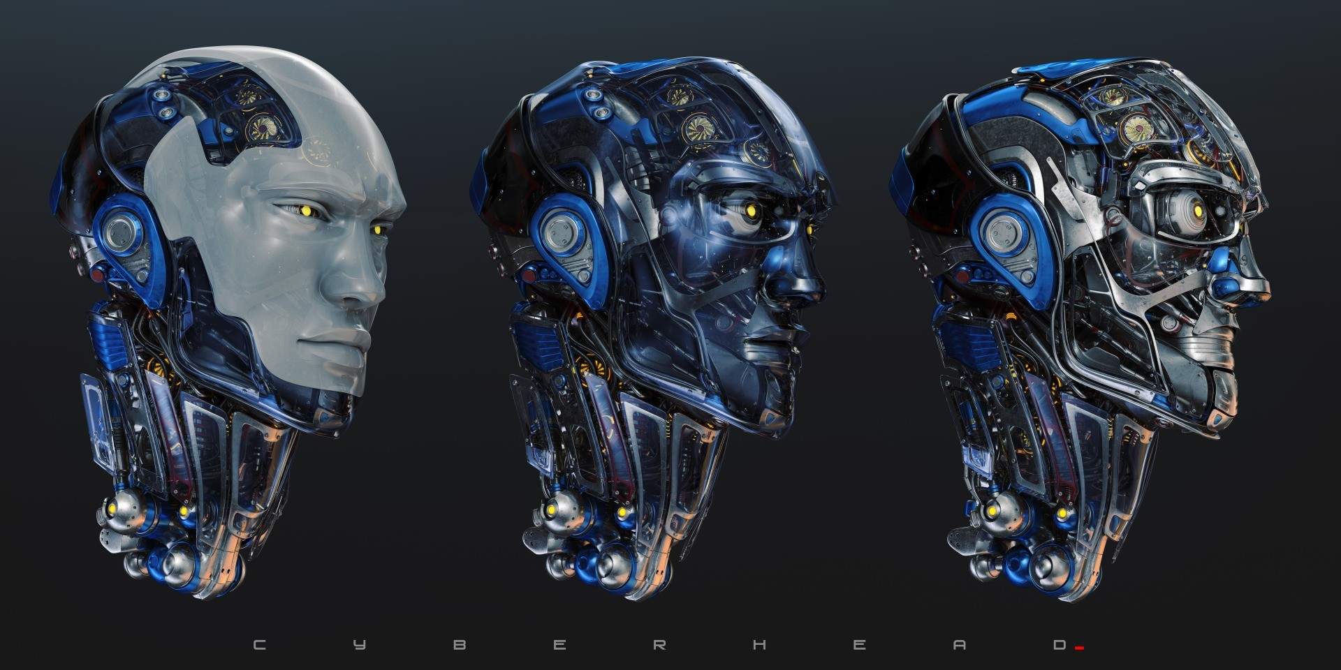 Vladislav ociacia robotic head 6