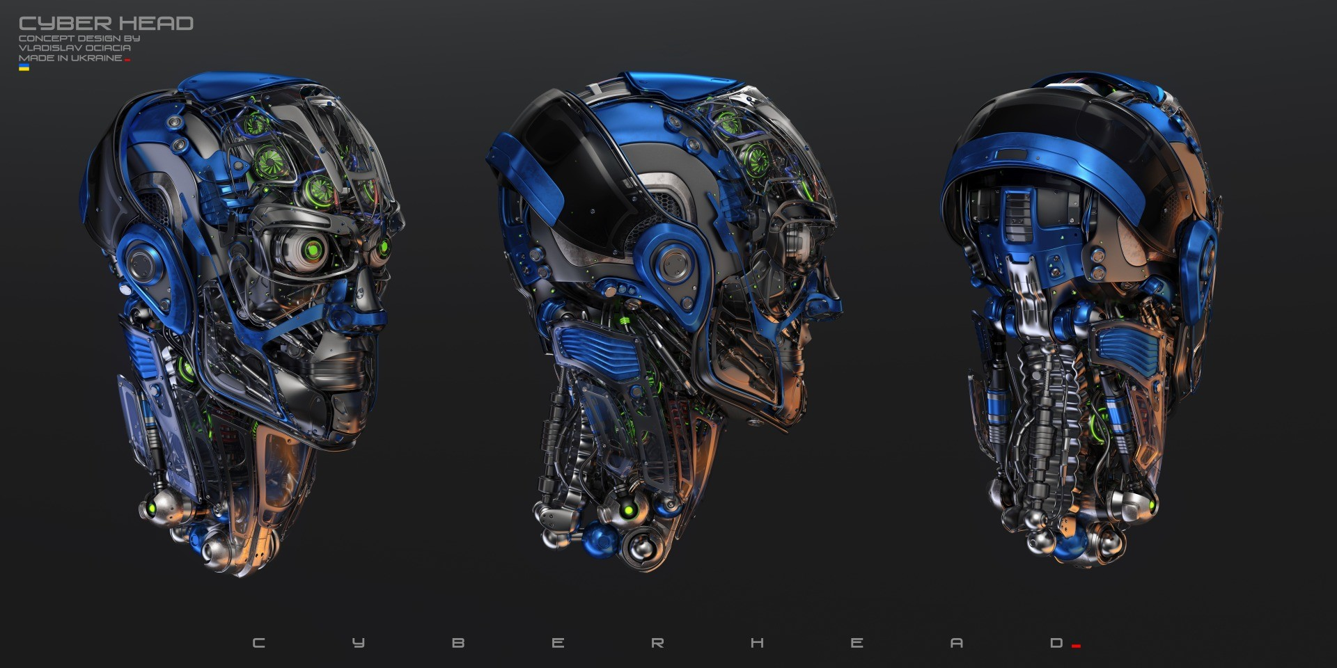 Vladislav ociacia robotic head 2