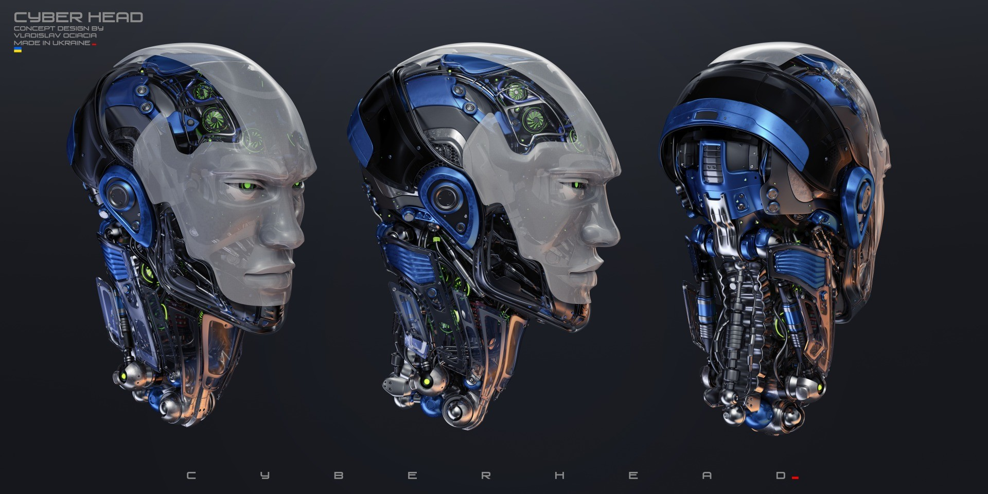 Vladislav ociacia robotic head 4