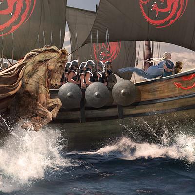 Kieran belshaw dothraki daenerys shipsideprows v007