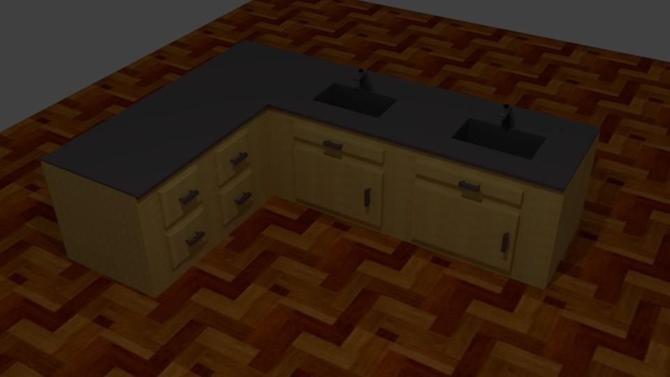 Kitchen sink (Blender) 1