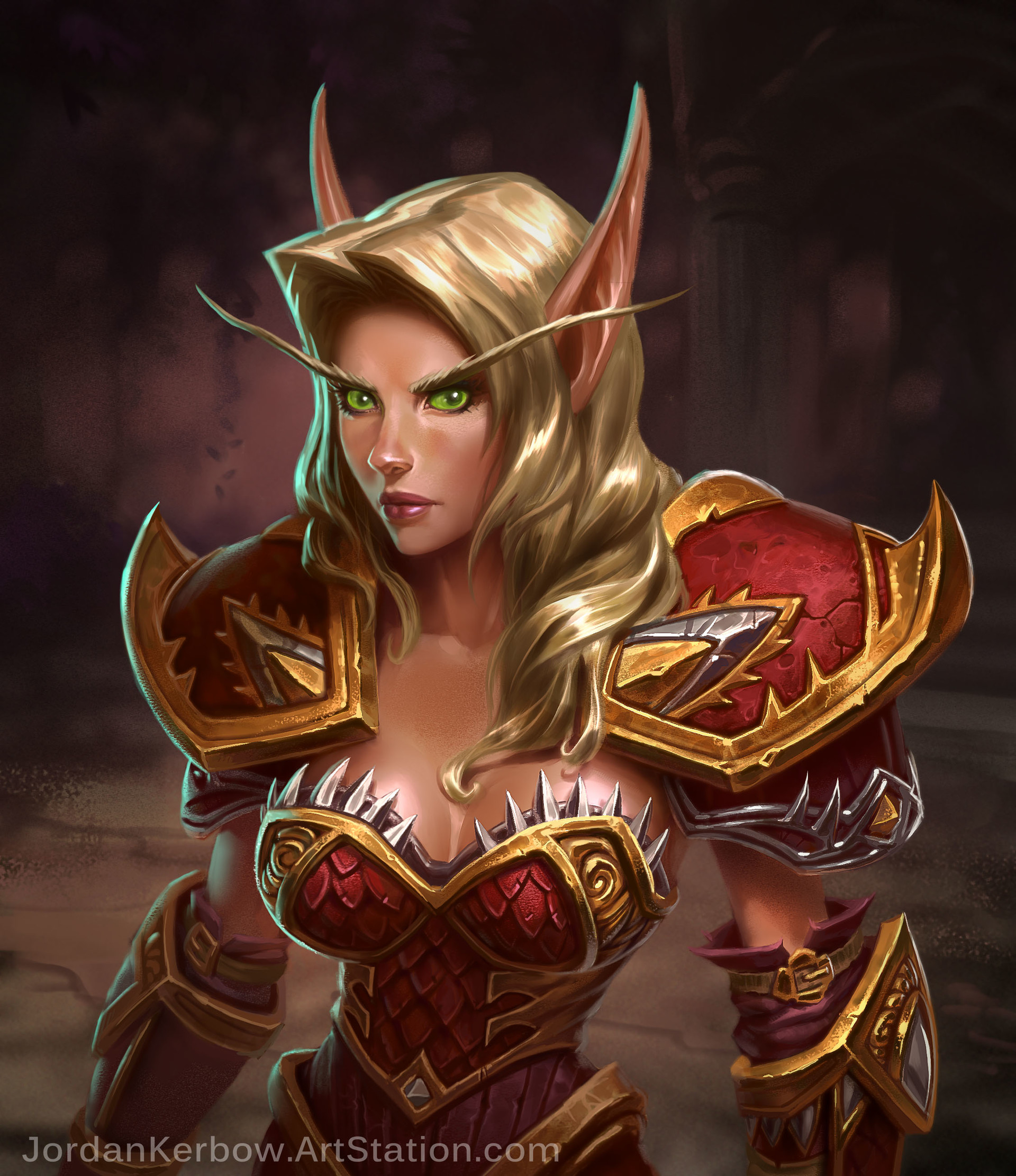 World of warcraft striping blood elf exposed toons