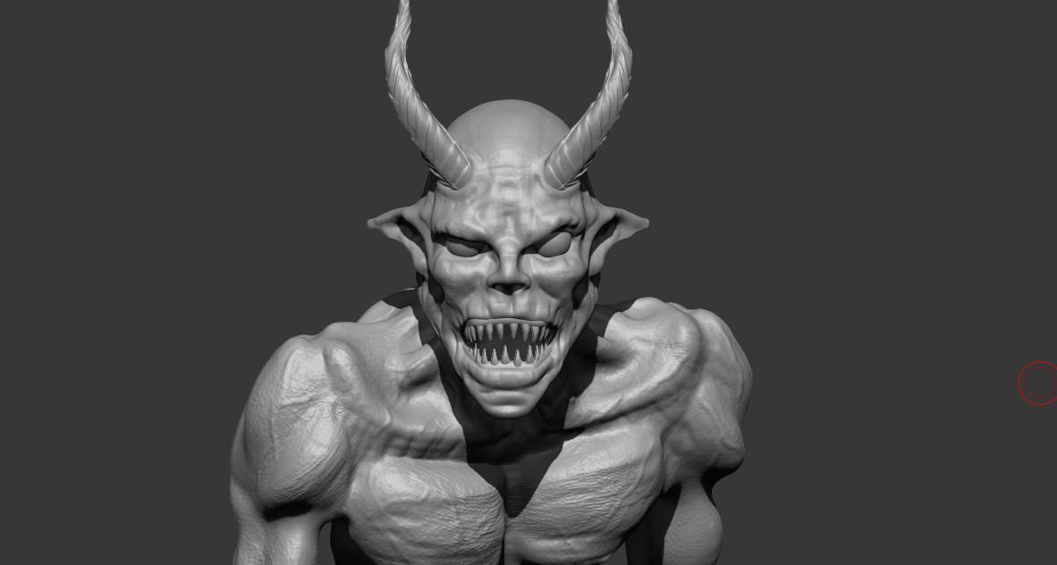 Obum asota demonsculpt wip01