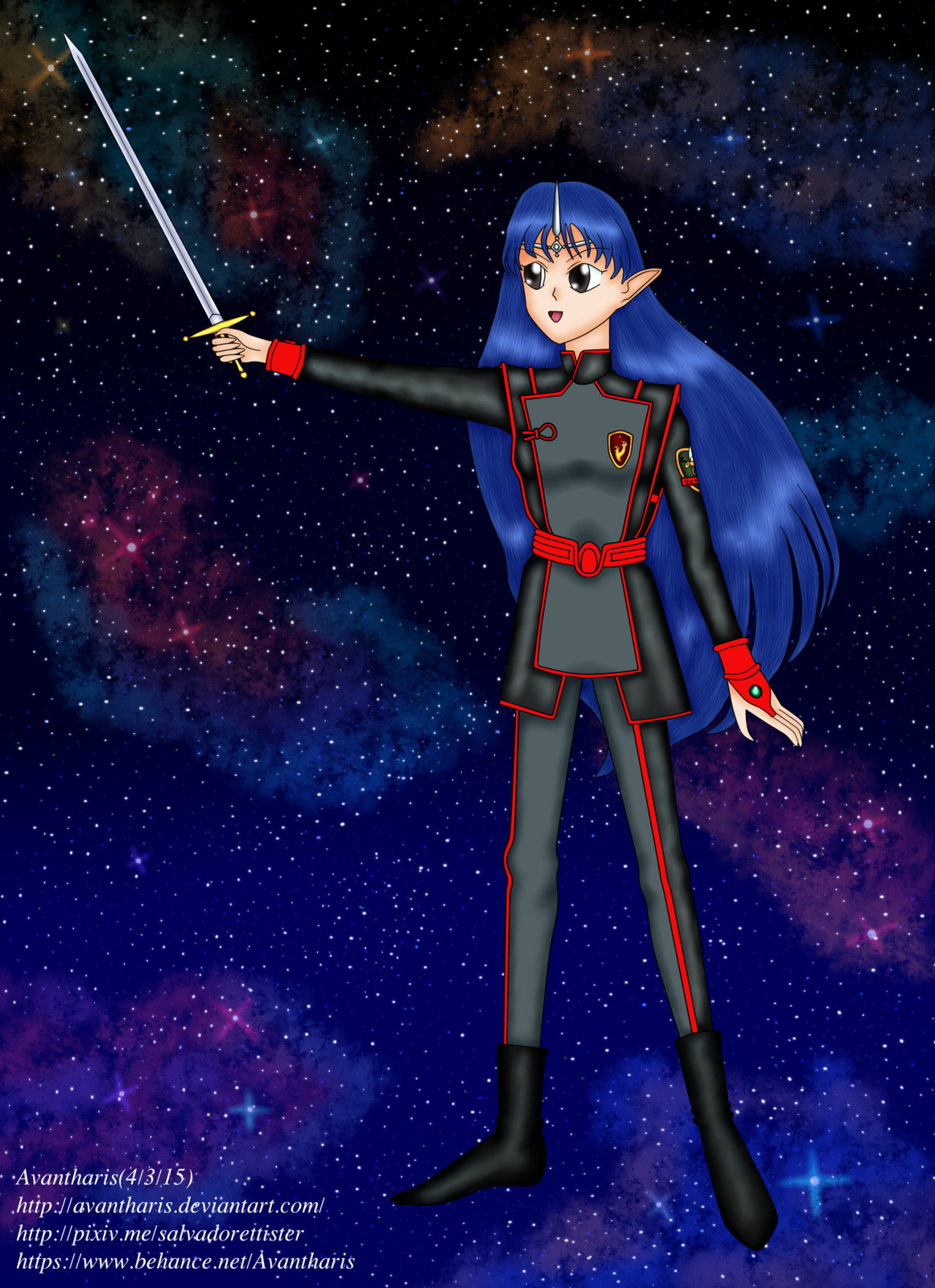 Lafiel from the Banner of the Stars
