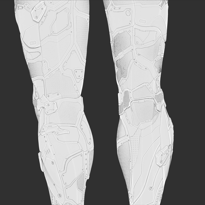 Cavity Thigh Knee