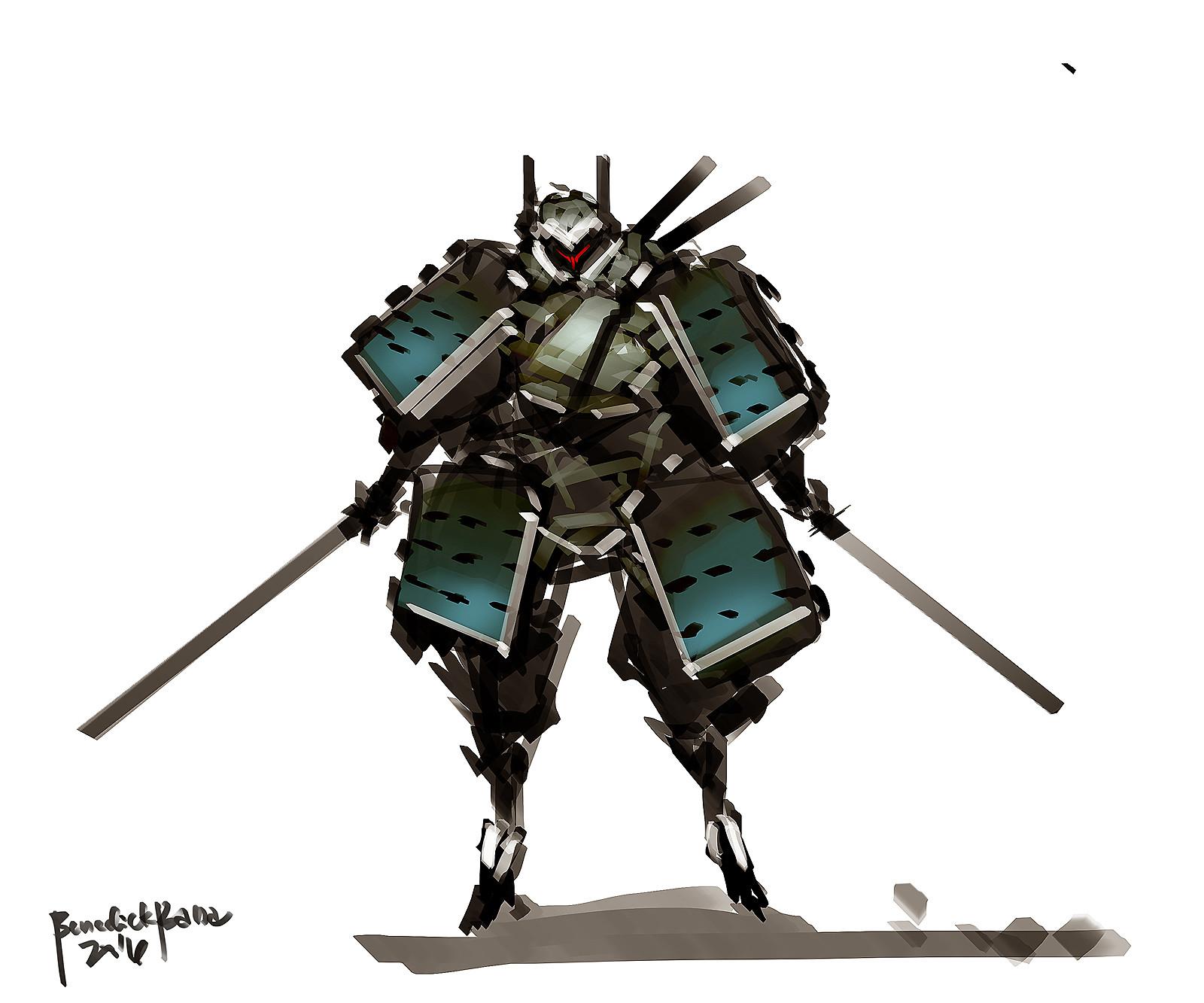 Benedick bana samurai merc lores