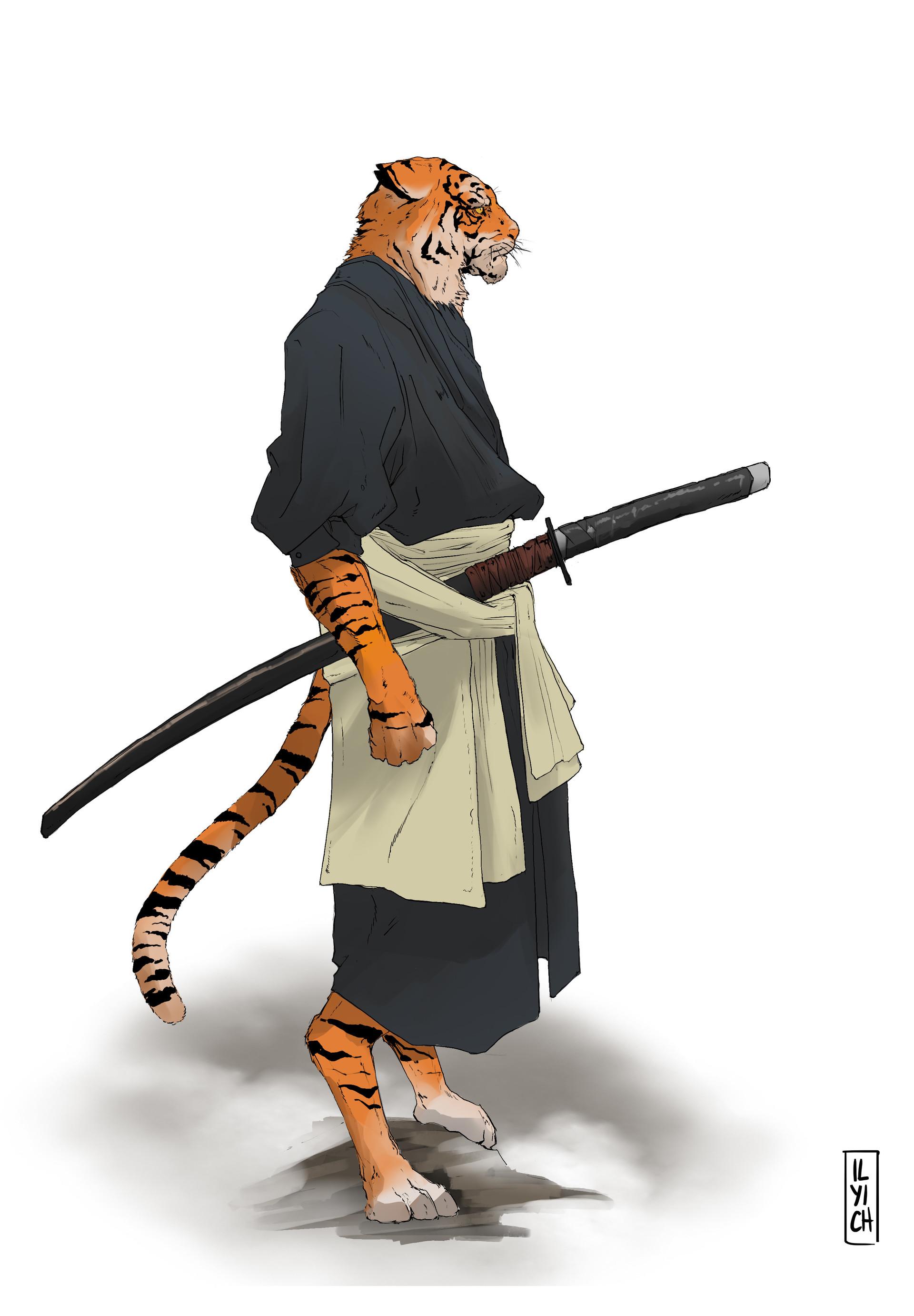 Pablo ilyich tigre samurai 2