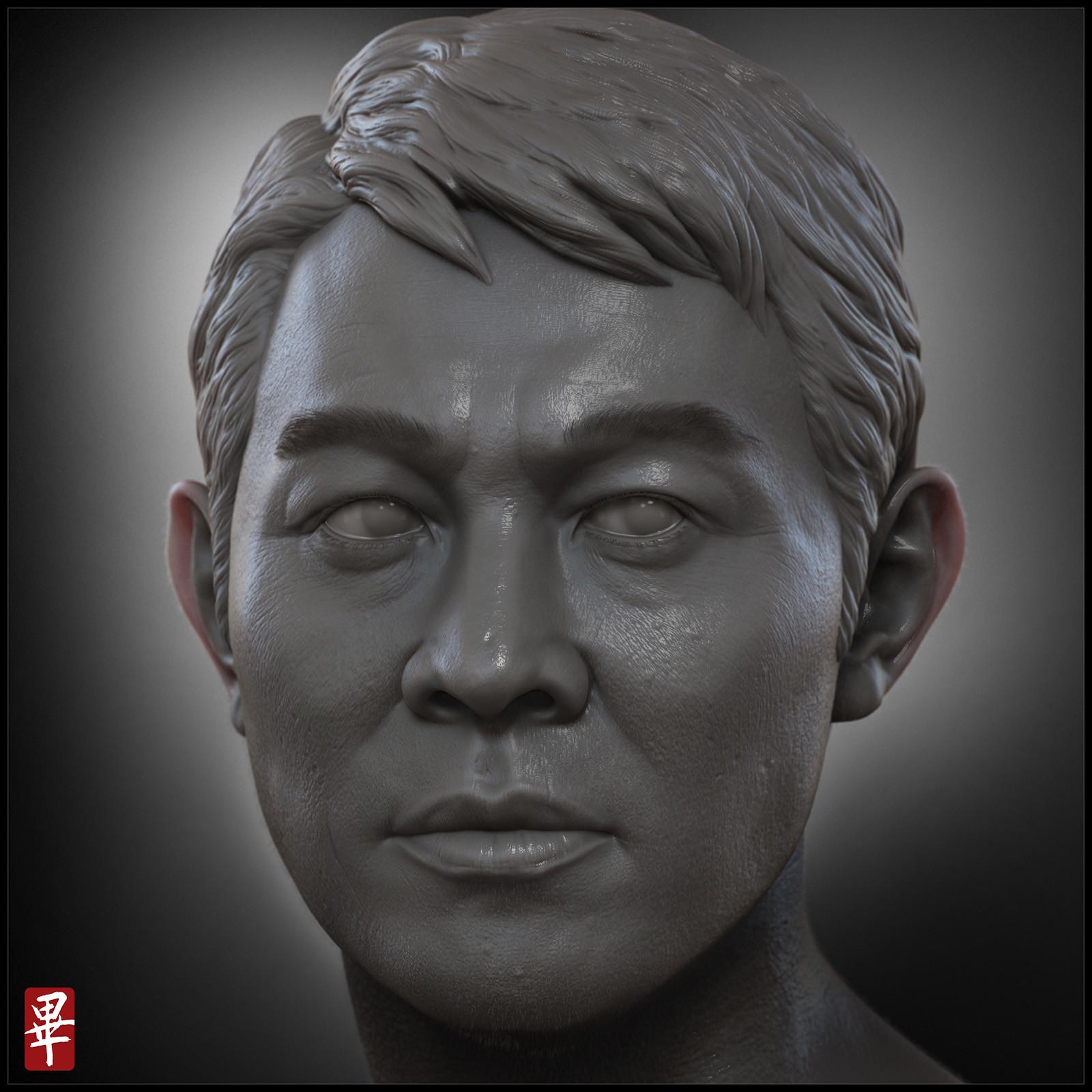 Jet Li's portrait