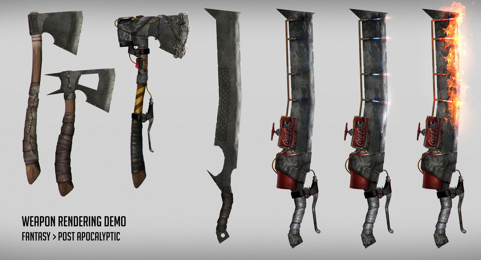 Weapon rendering demo