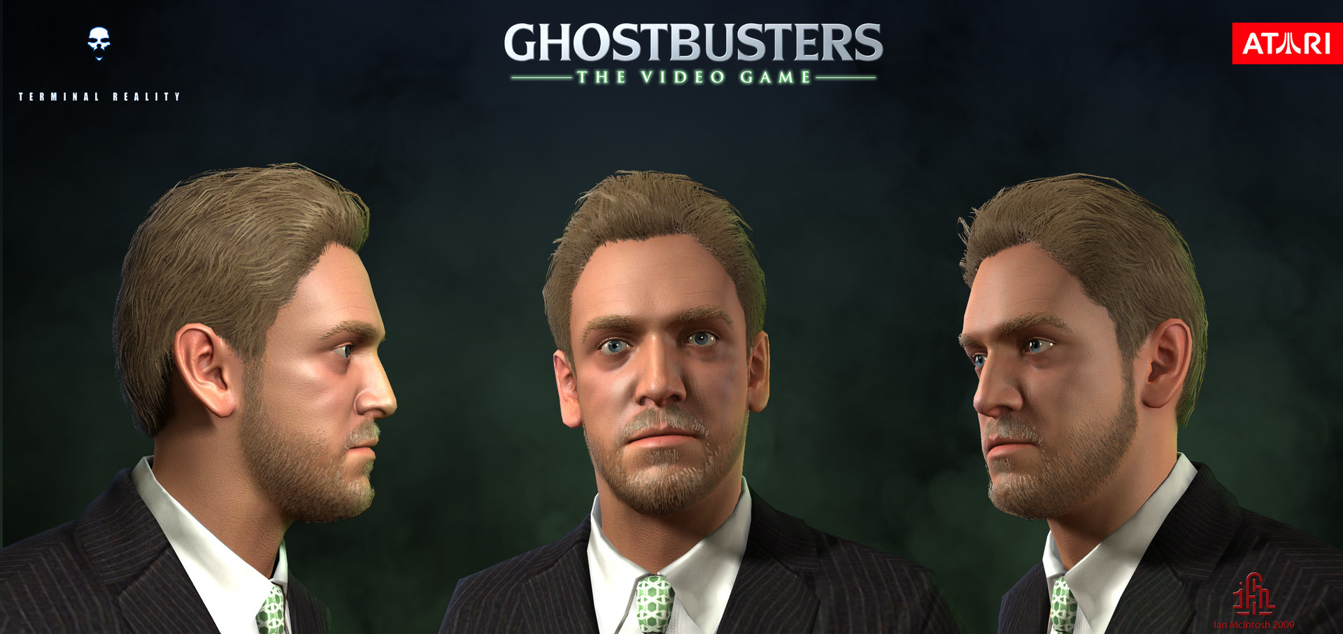 ArtStation - Ghostbusters: The Video Game - Walter Peck, Ian McIntosh