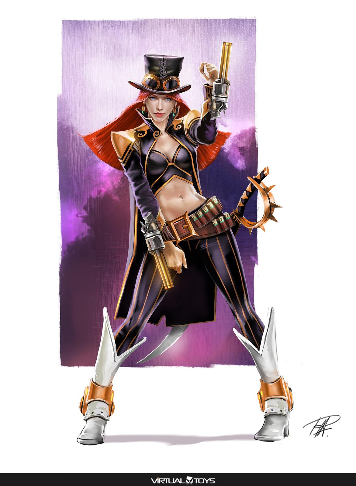 Pirate Treasure Hunters Characters designs